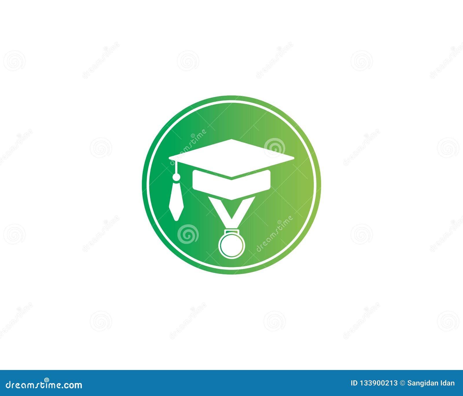 Illustration för utbildningsLogo Template vektor