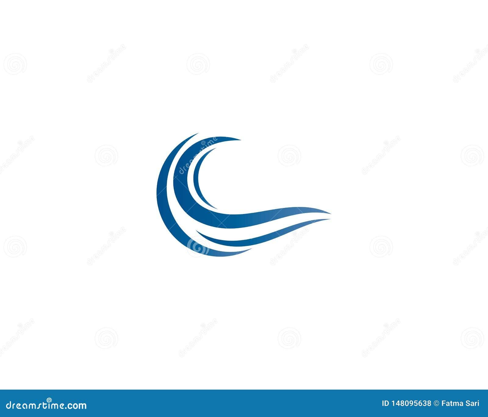Illustration f?r logo f?r vattenv?g
