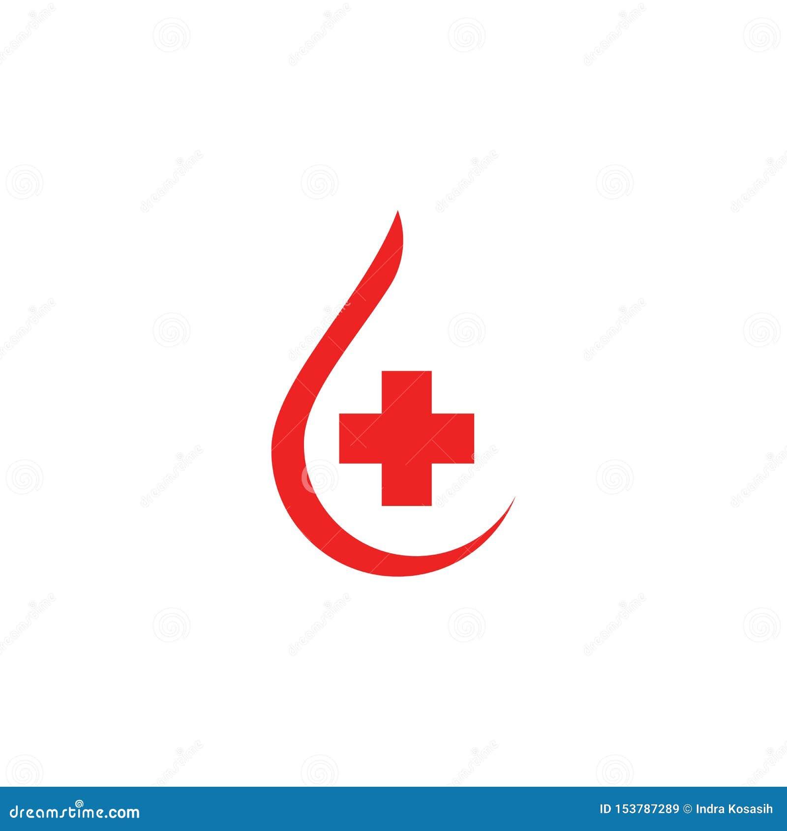 Illustration f?r symbol f?r blodlogovektor
