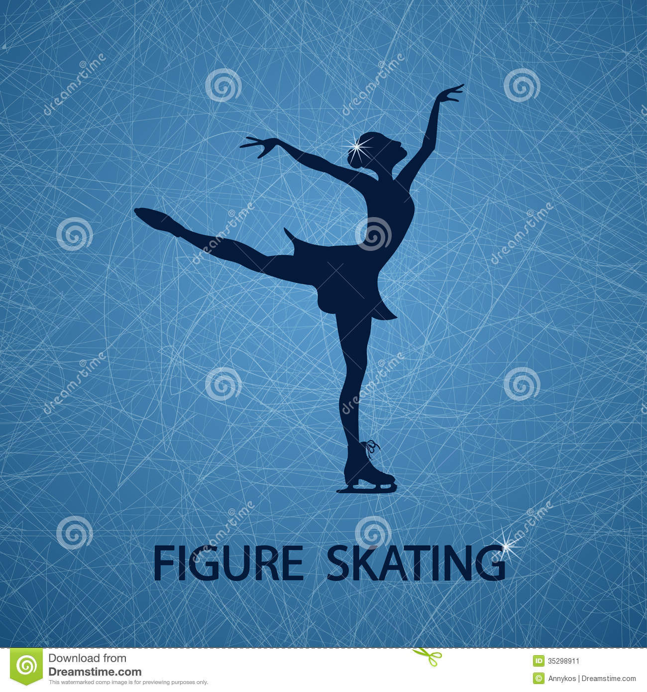 Figure skating powerpoint background