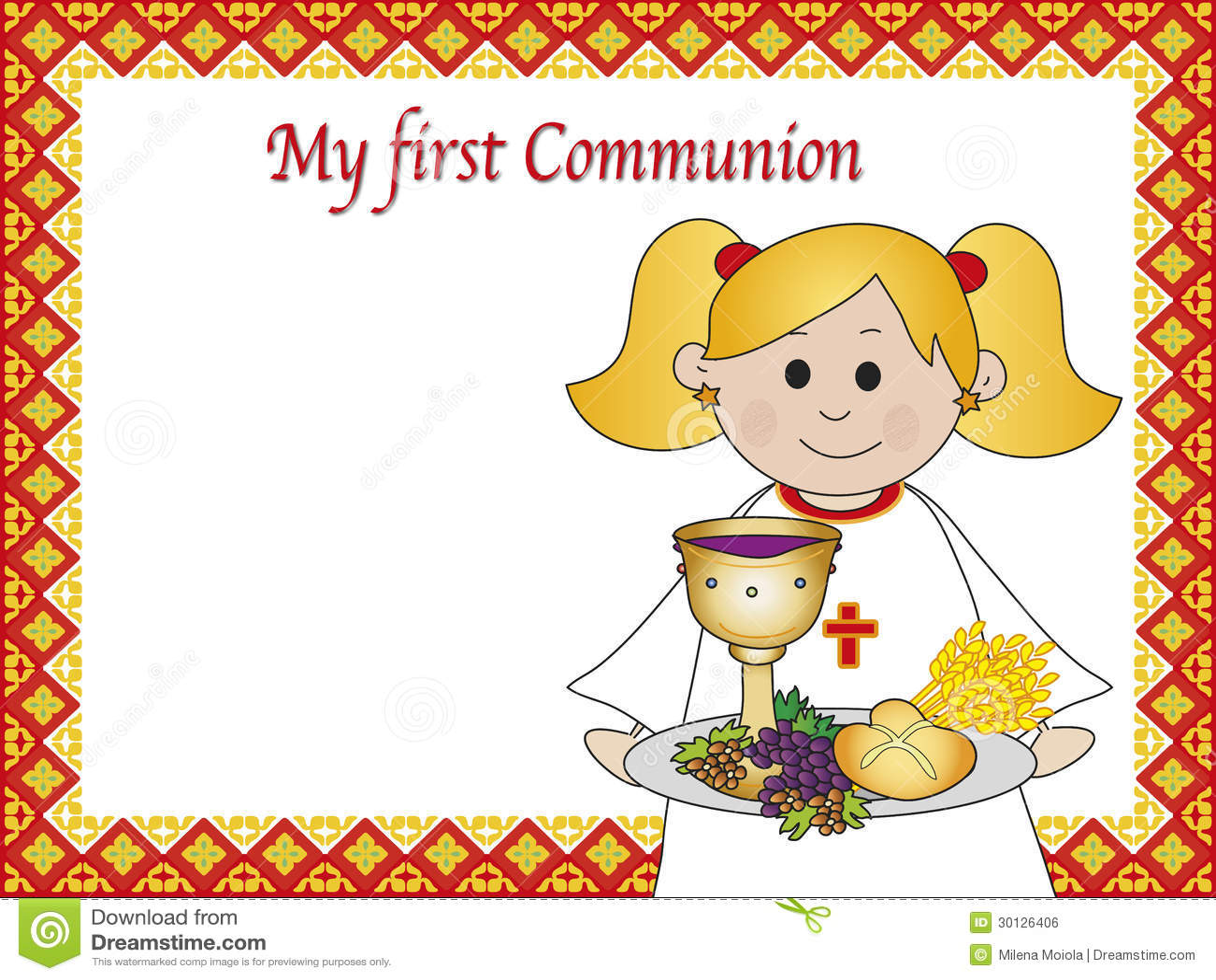Поздравление с первым причастием открытки