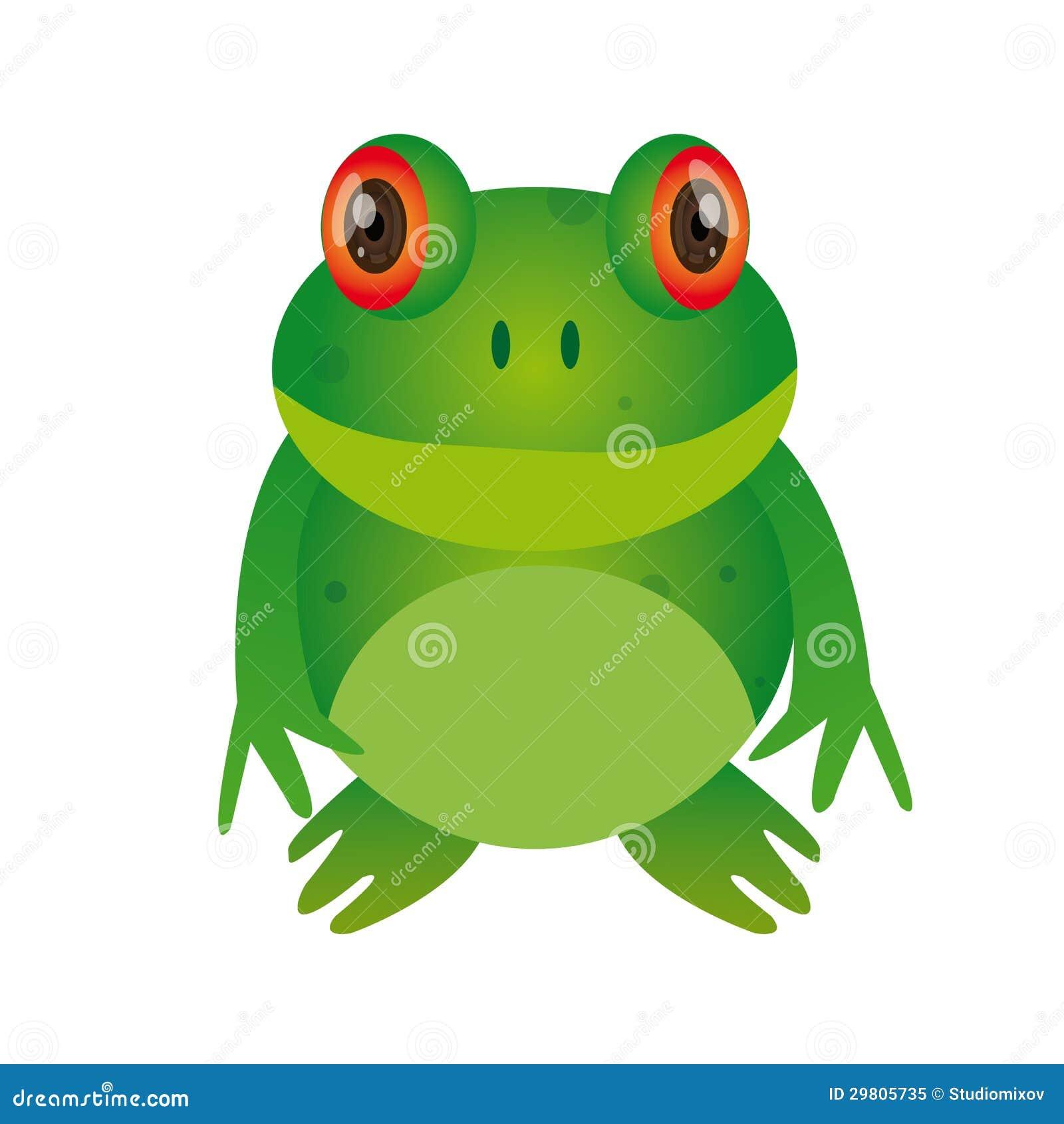 Frog Cartoon Royalty Free Stock Photo - Image: 29805735
