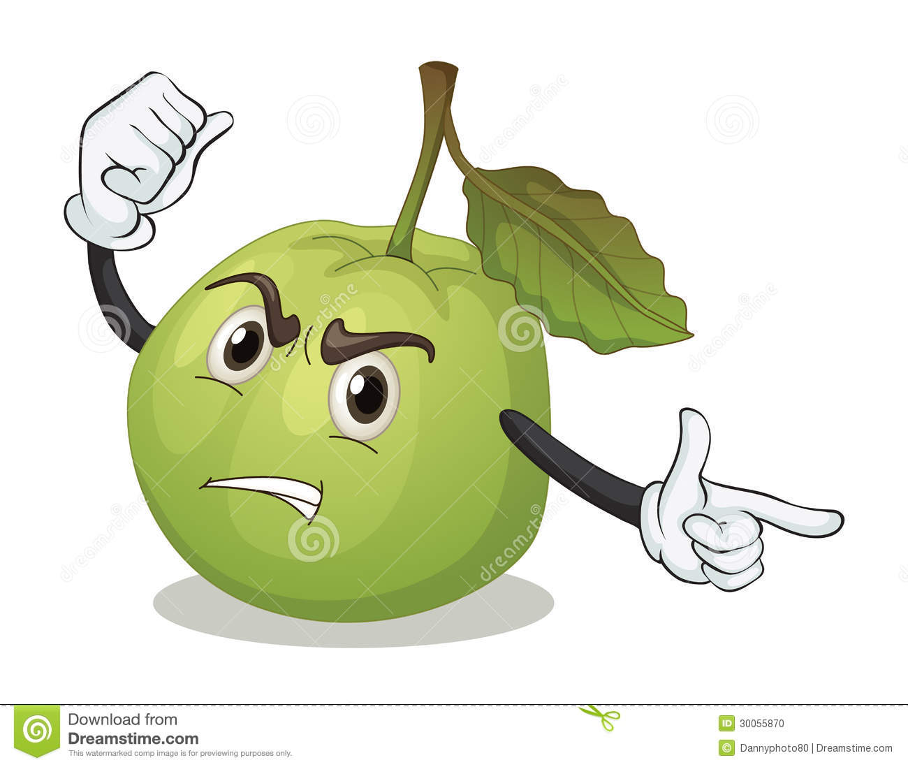delicious green apple illustration - photo #38