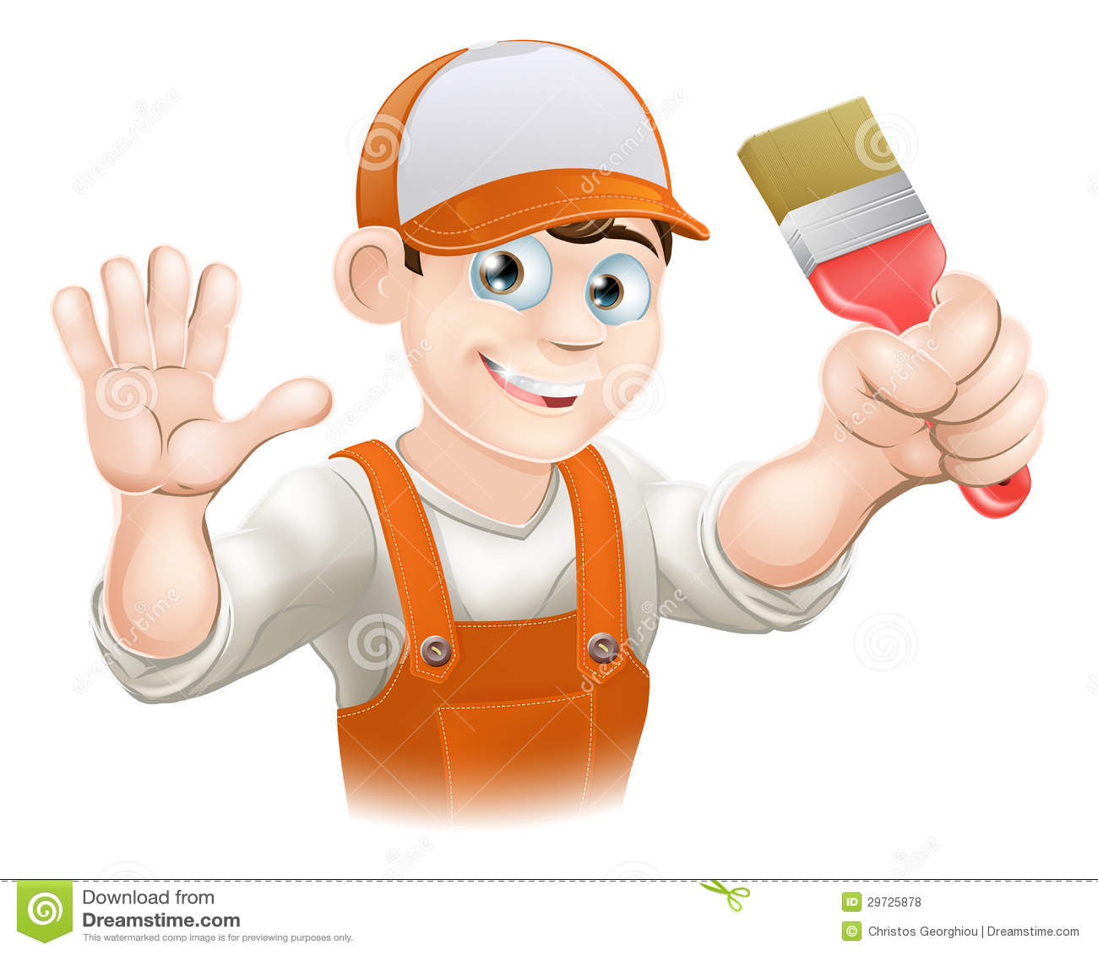 Painter Or Decorator Man Royalty Free Stock Photos Image