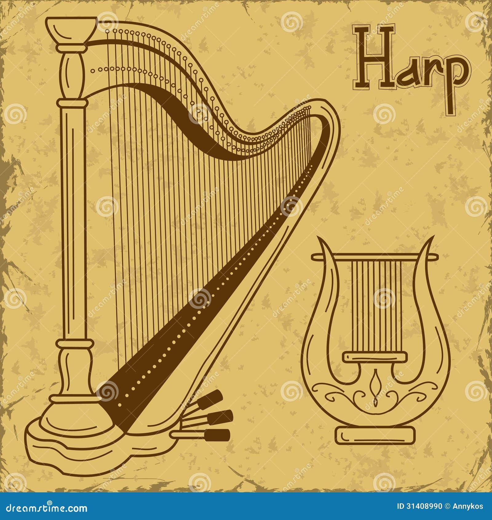Лира музыкальный инструмент ее изображение 5