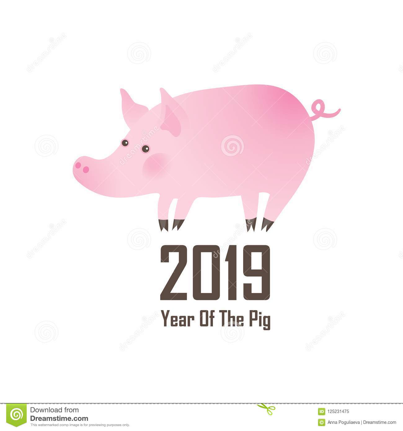 Pig - a symbol of 2019 do it yourself 17