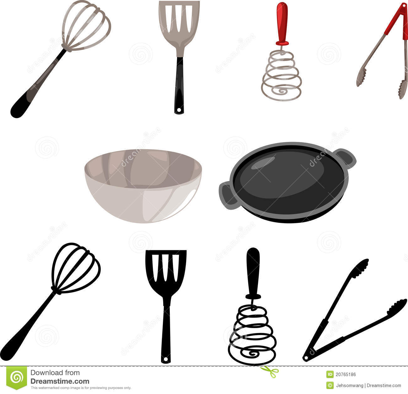 Illustration Kitchen Tool Vector Royalty Free Stock Image Image 20765186