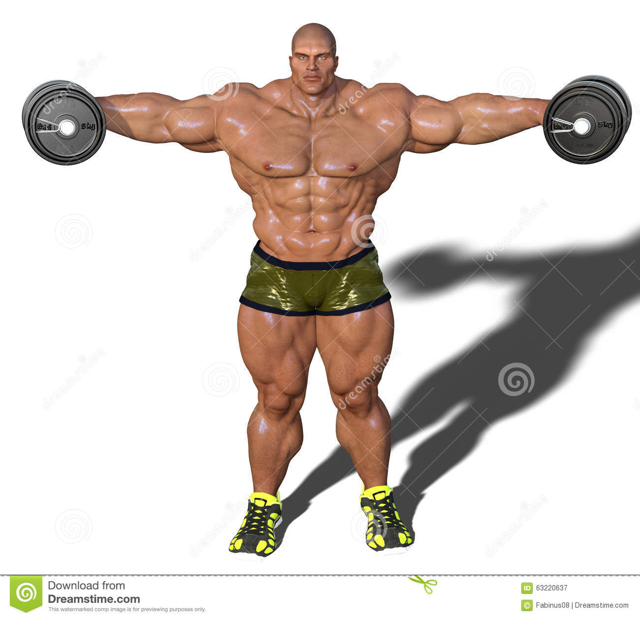 Royalty Free Stock Photos: Lateral raise. Image: 52591048