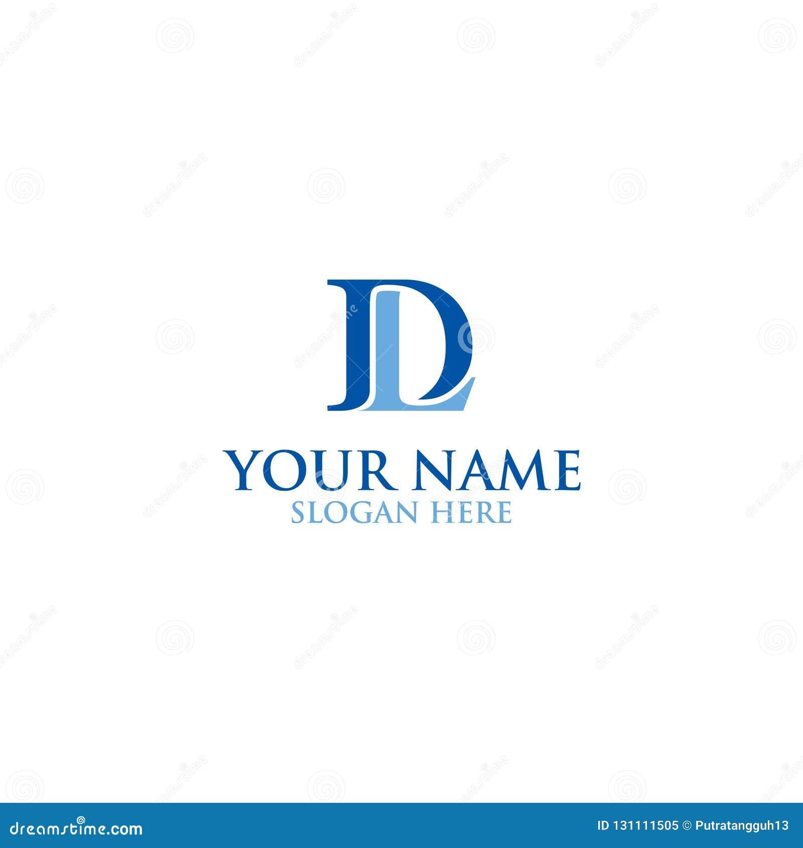 Letter Dl Logo Design Stock Vector Illustration Of Logo 131111505