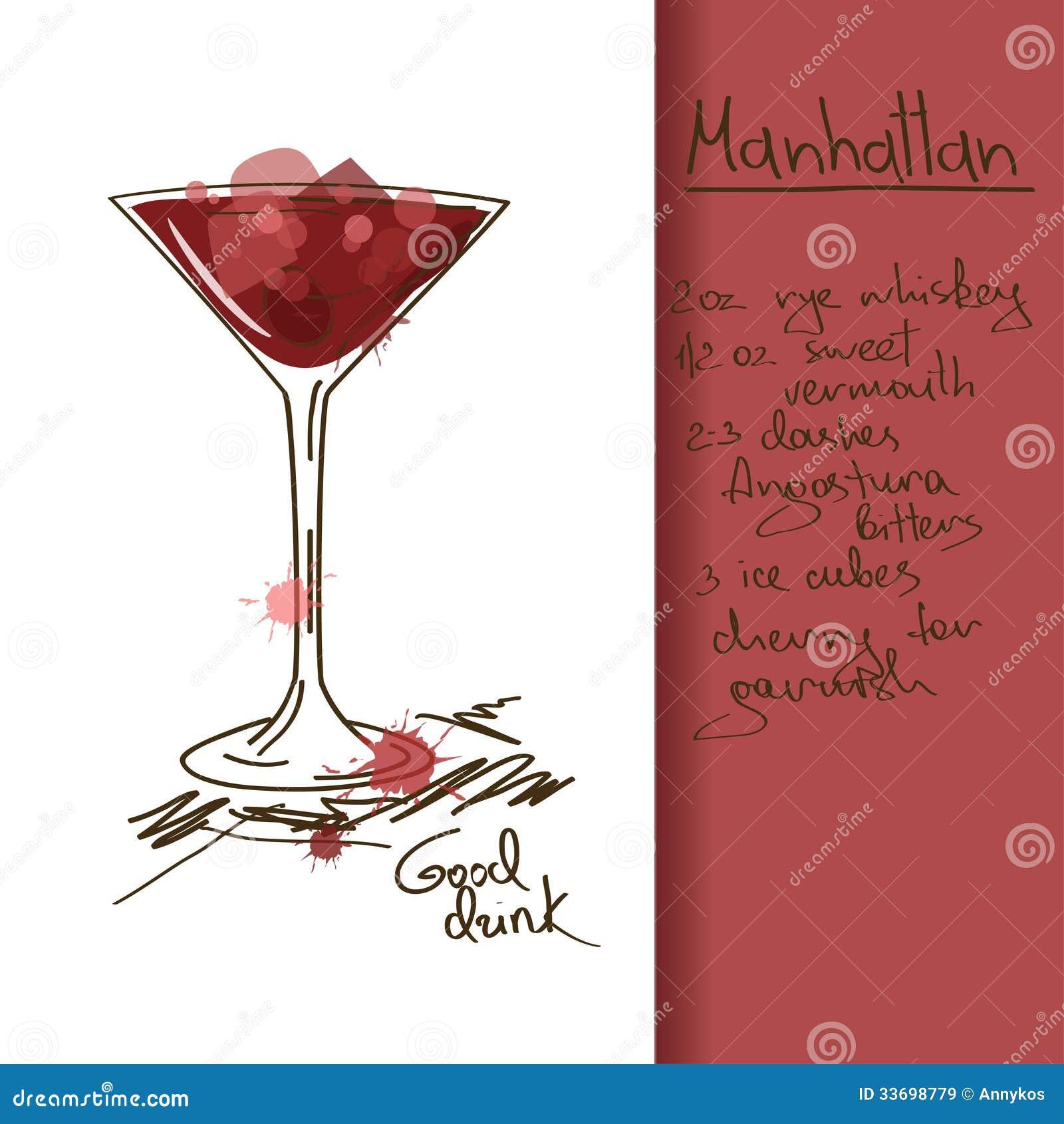 Manhattan Cocktail Stock Illustrations 699 Manhattan Cocktail Stock Illustrations Vectors Clipart Dreamstime