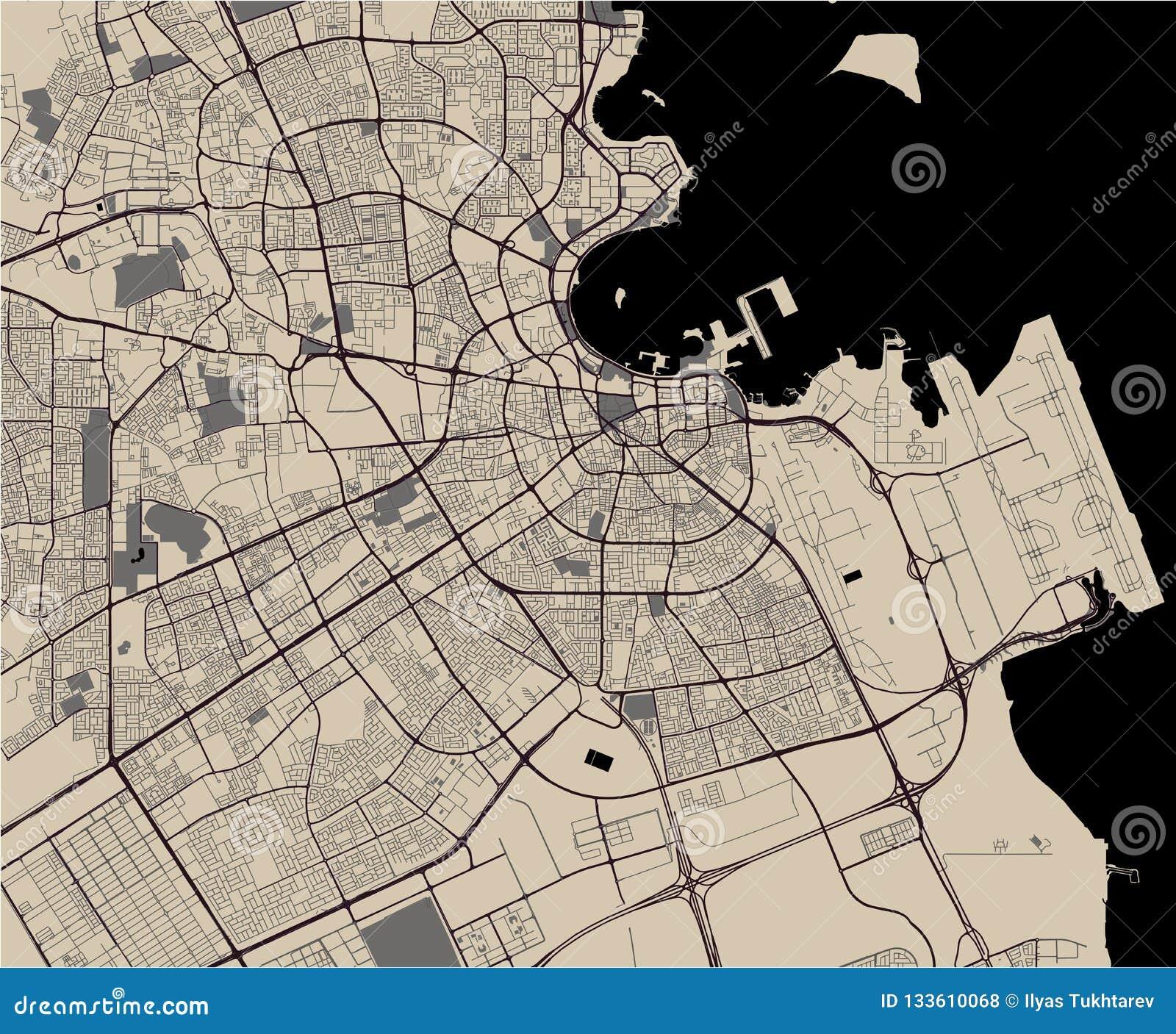 Map Of The City Of Doha, Qatar Stock Illustration ... Qatar Area Map on italy map area, algeria map area, cape verde map area, jamaica map area, bangladesh map area, kuwait map area, lebanon map area, puerto rico map area, palestine map area, egypt map area, rwanda map area, syria map area, middle east map area, iceland map area, haiti map area, japan map area, albania map area, asia map area, cayman islands map area, saudi arabia map area,