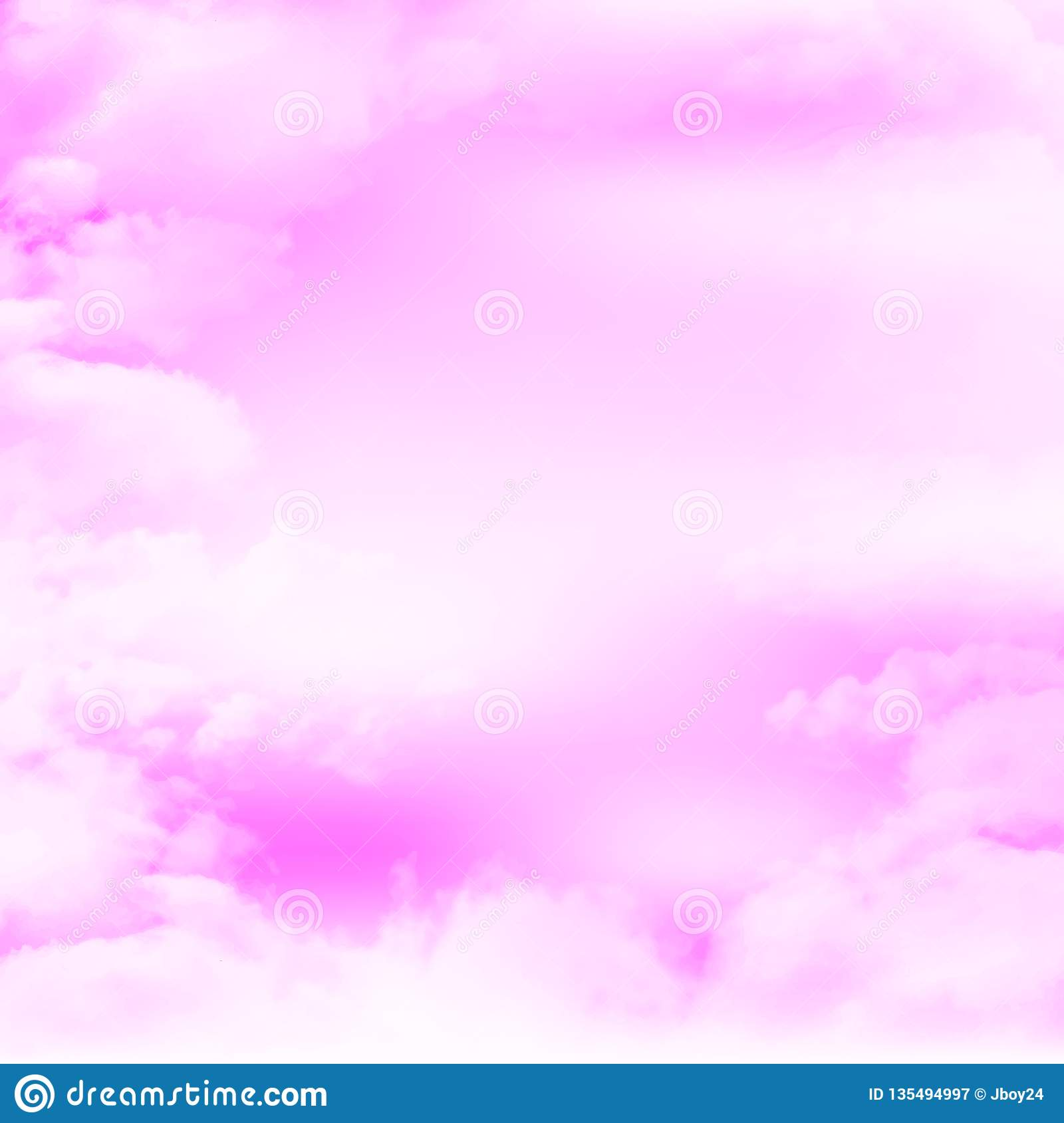 Illustration material that imagines a beautiful Japanese sky