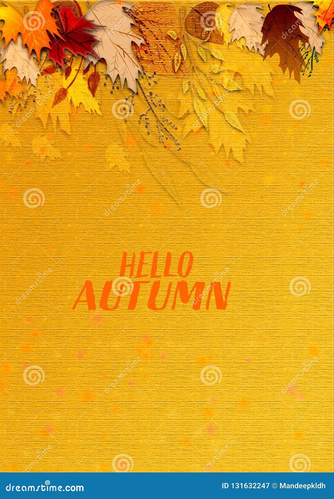 Illustration moderne texturisée d automne fond extérieur sale de texture