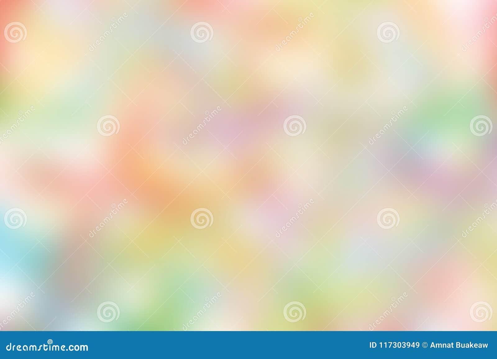 Illustration molle en pastel colorée brouillée de fond de tonalité de gradient pour le fond de la publicité de bannière de cosmét