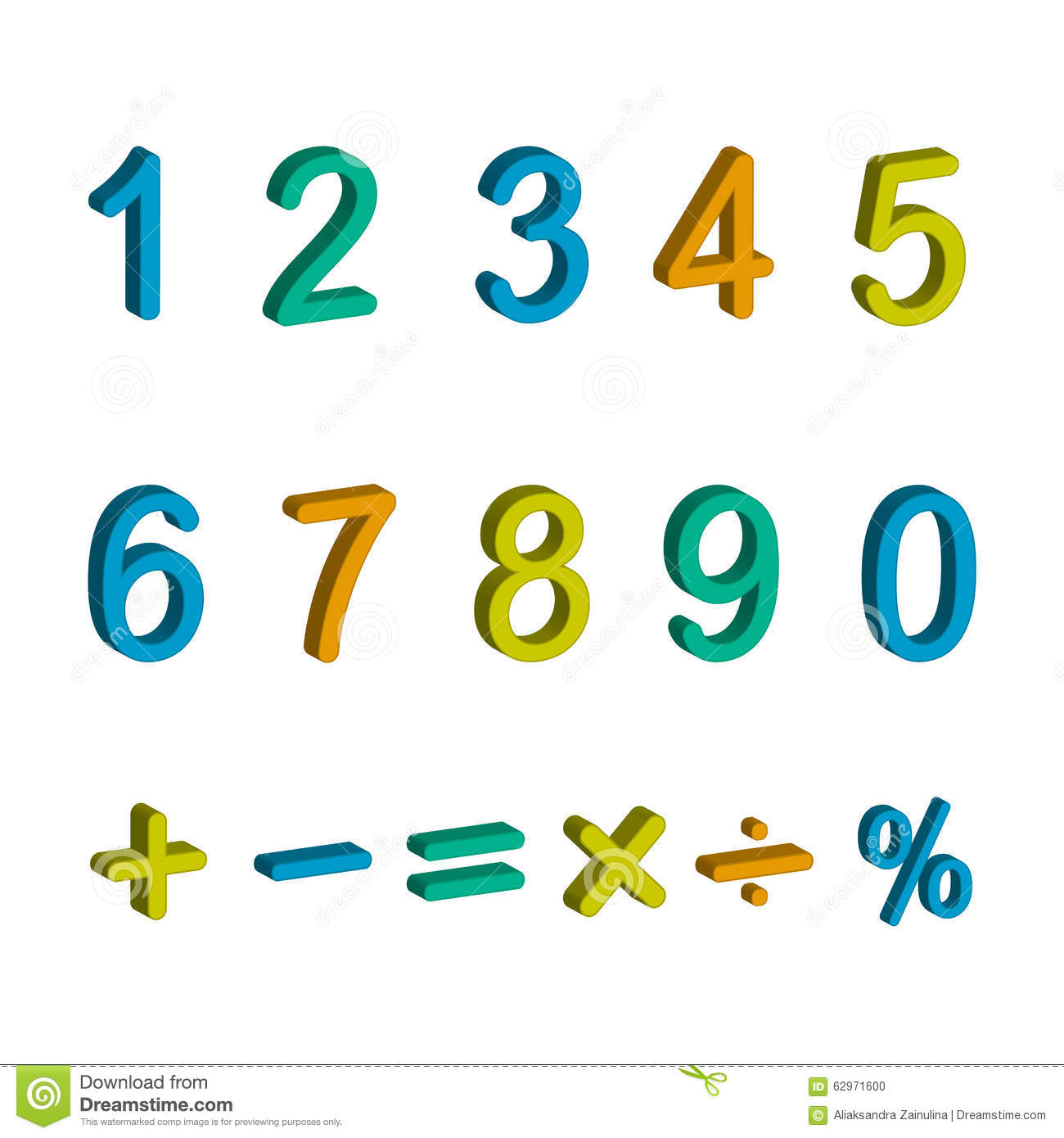 Illustration of numbers and maths symbols stock illustration illustration of numbers and maths symbols biocorpaavc Gallery