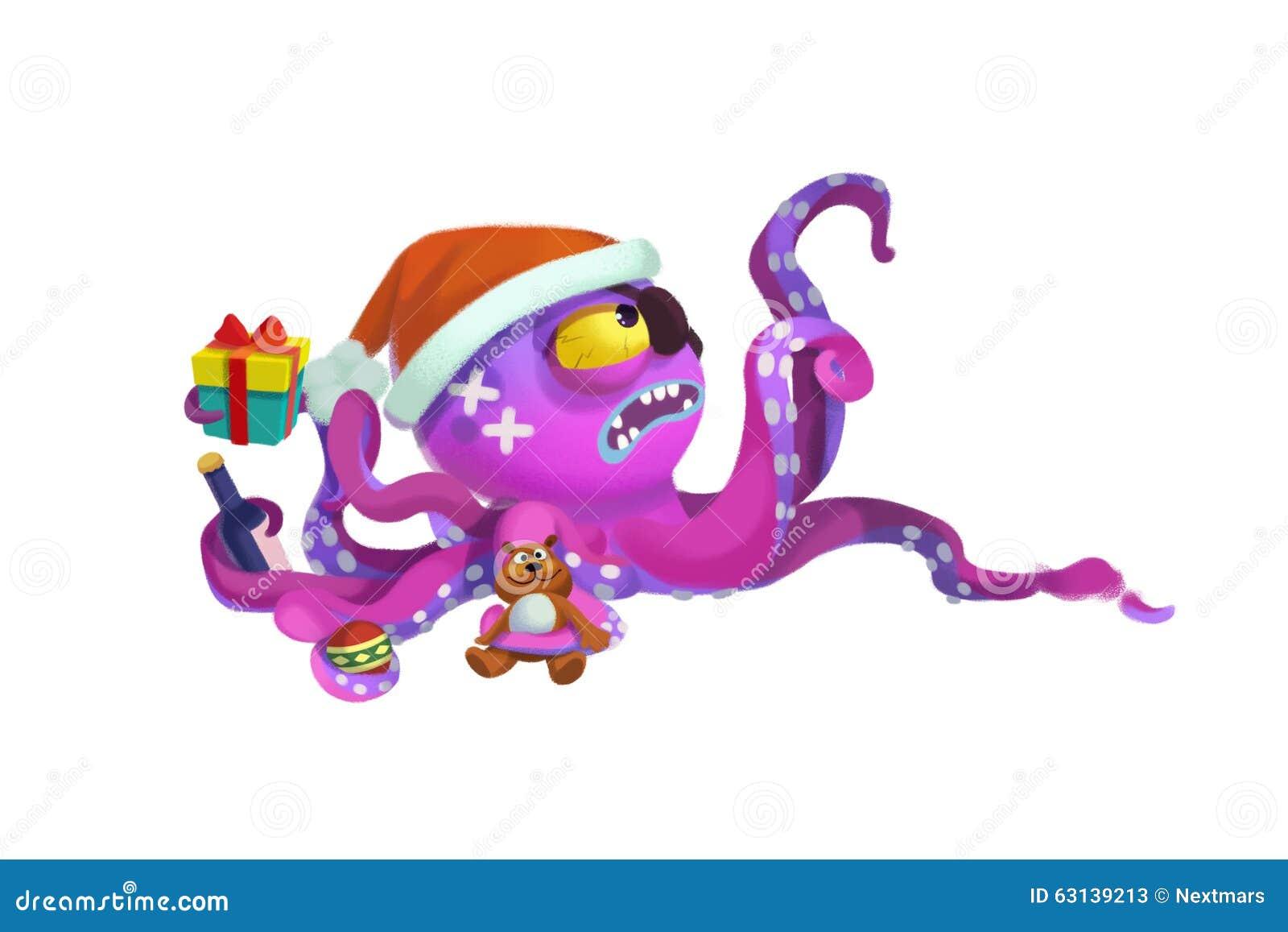 Octopus Christmas