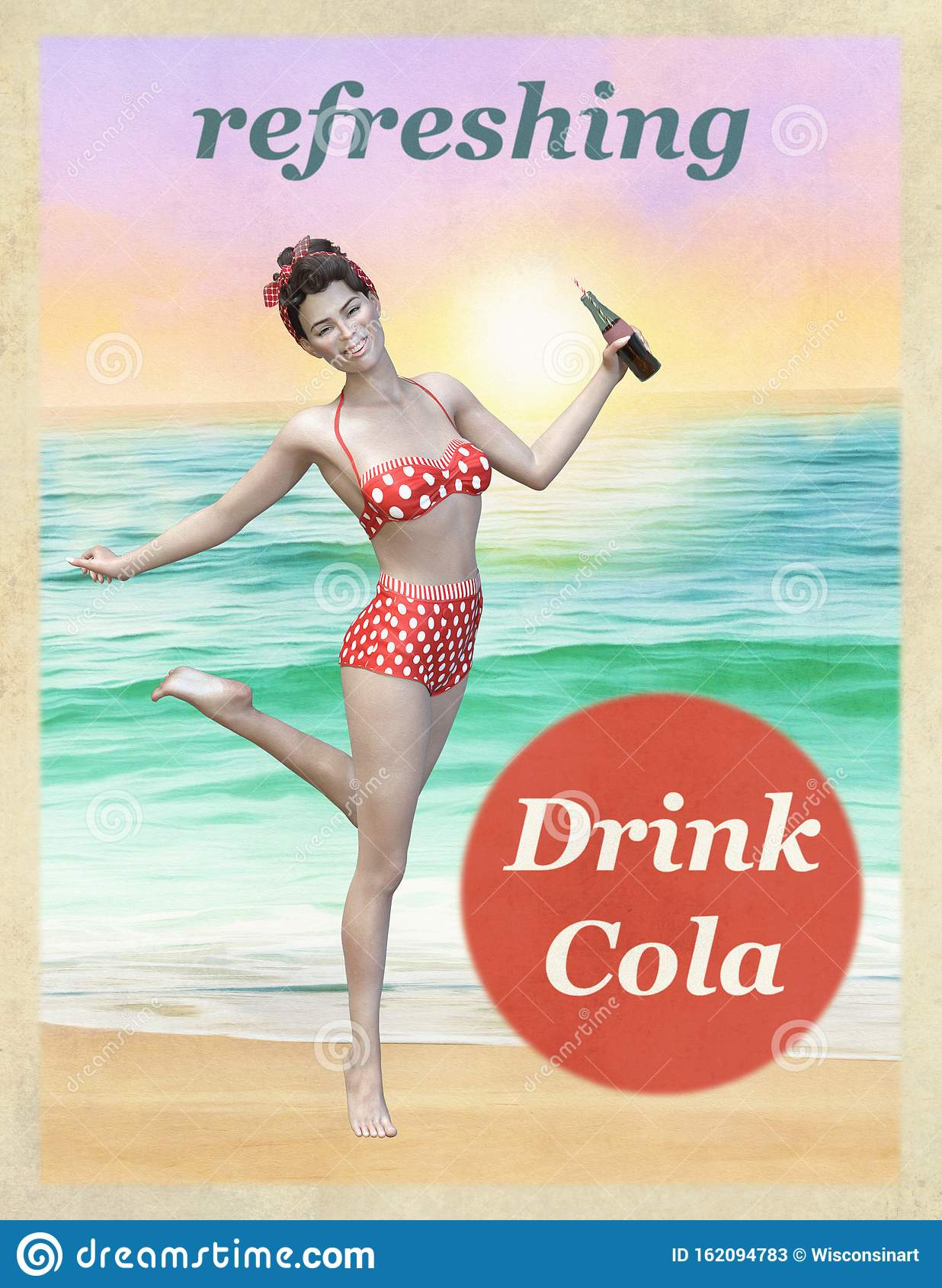 Pepsi Cola Promotion Poster