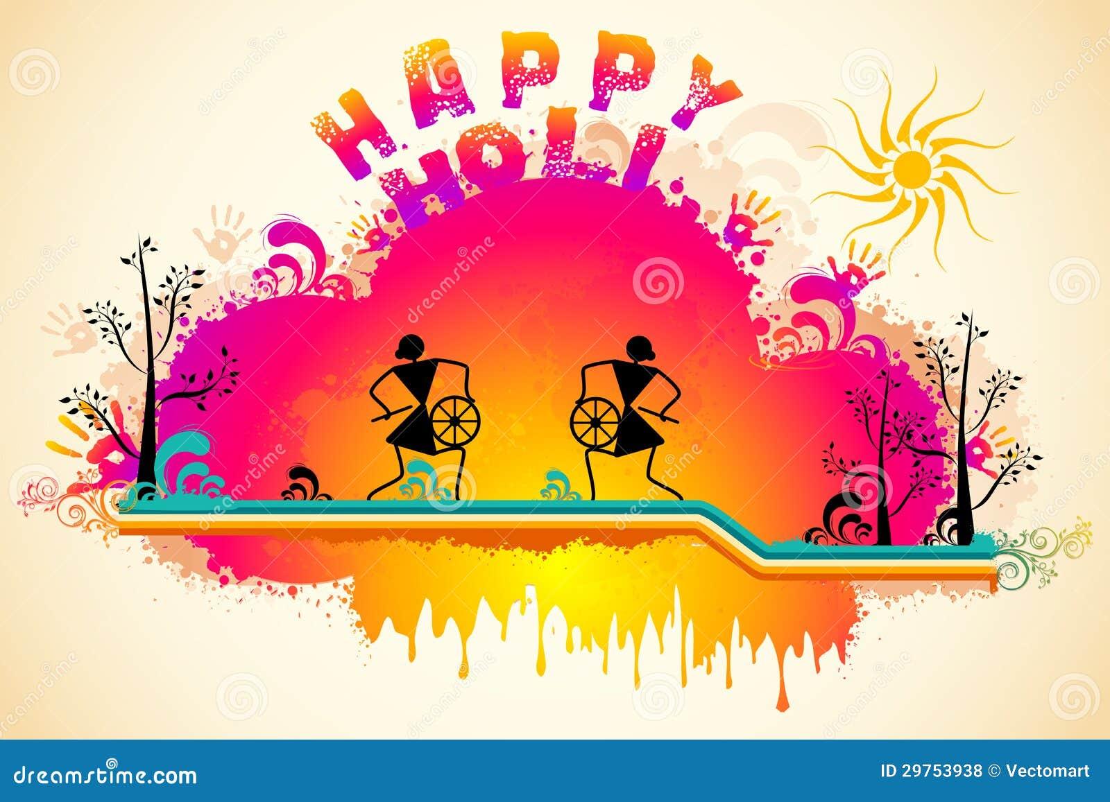 Holi Background Royalty Free Stock Photos - Image: 29753938