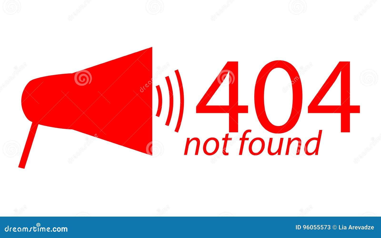 Illustration plate non trouvée des erreurs 404 de page