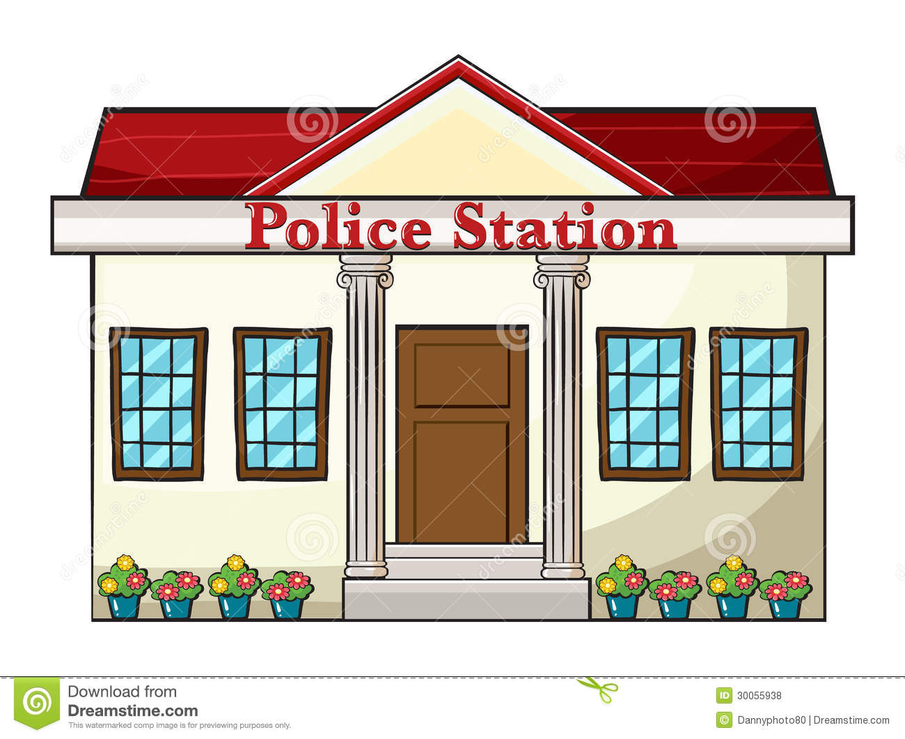 fire station building coloring pages - photo#34