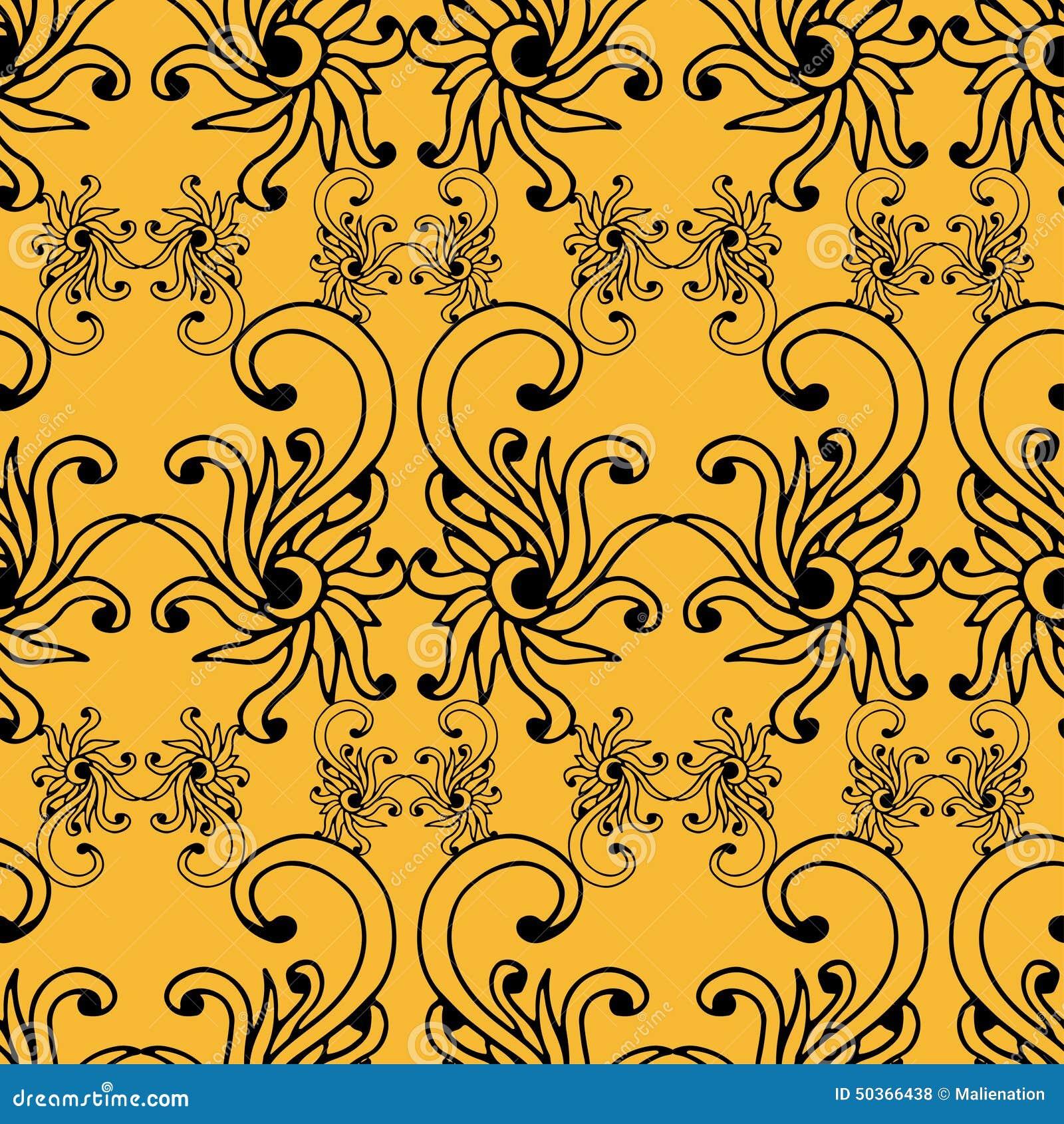 vector seamless renaissance wallpaper - photo #25