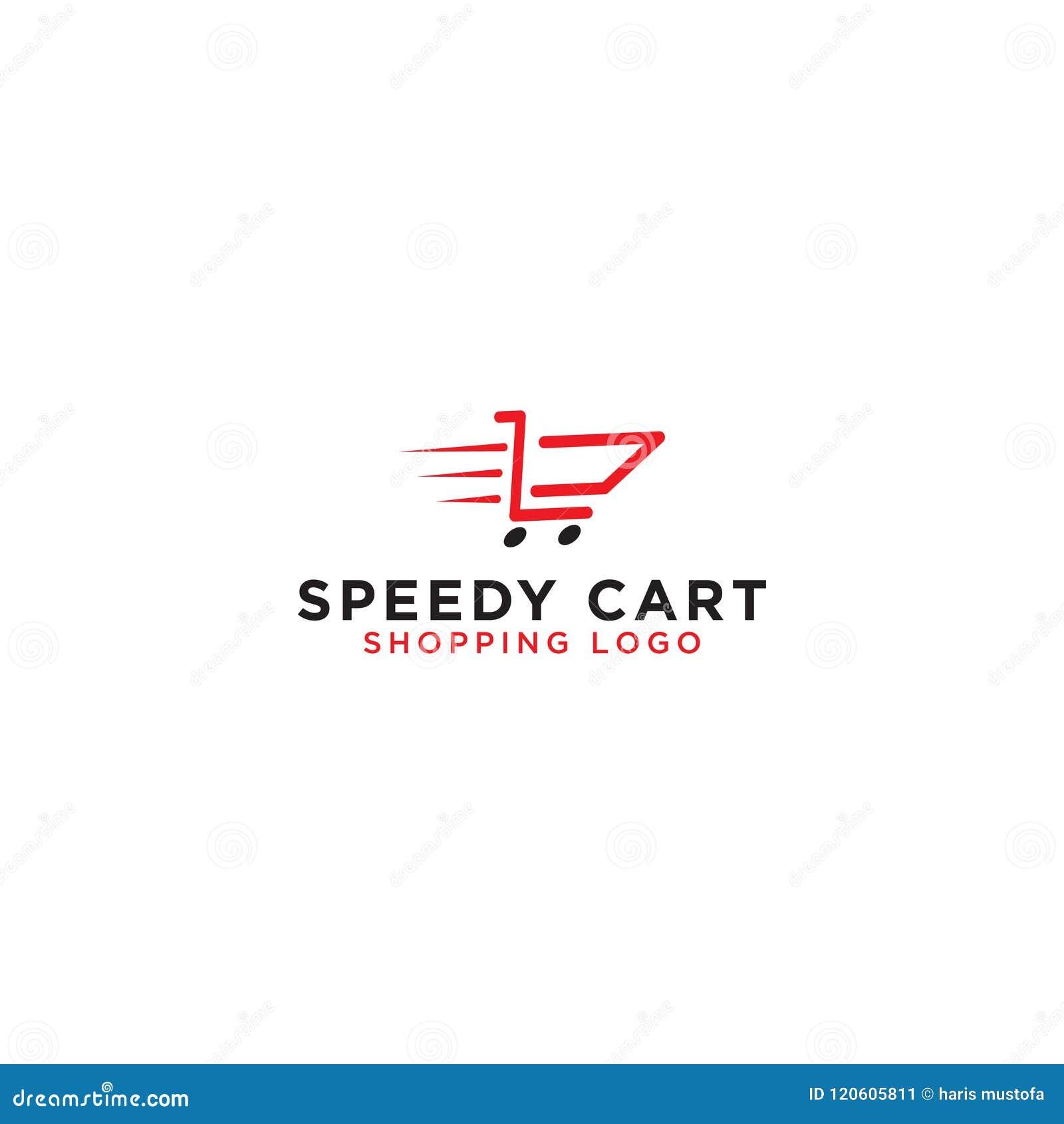 purchase logo template  Shopping Cart Logo Design Template Stock Vector - Illustration of ...