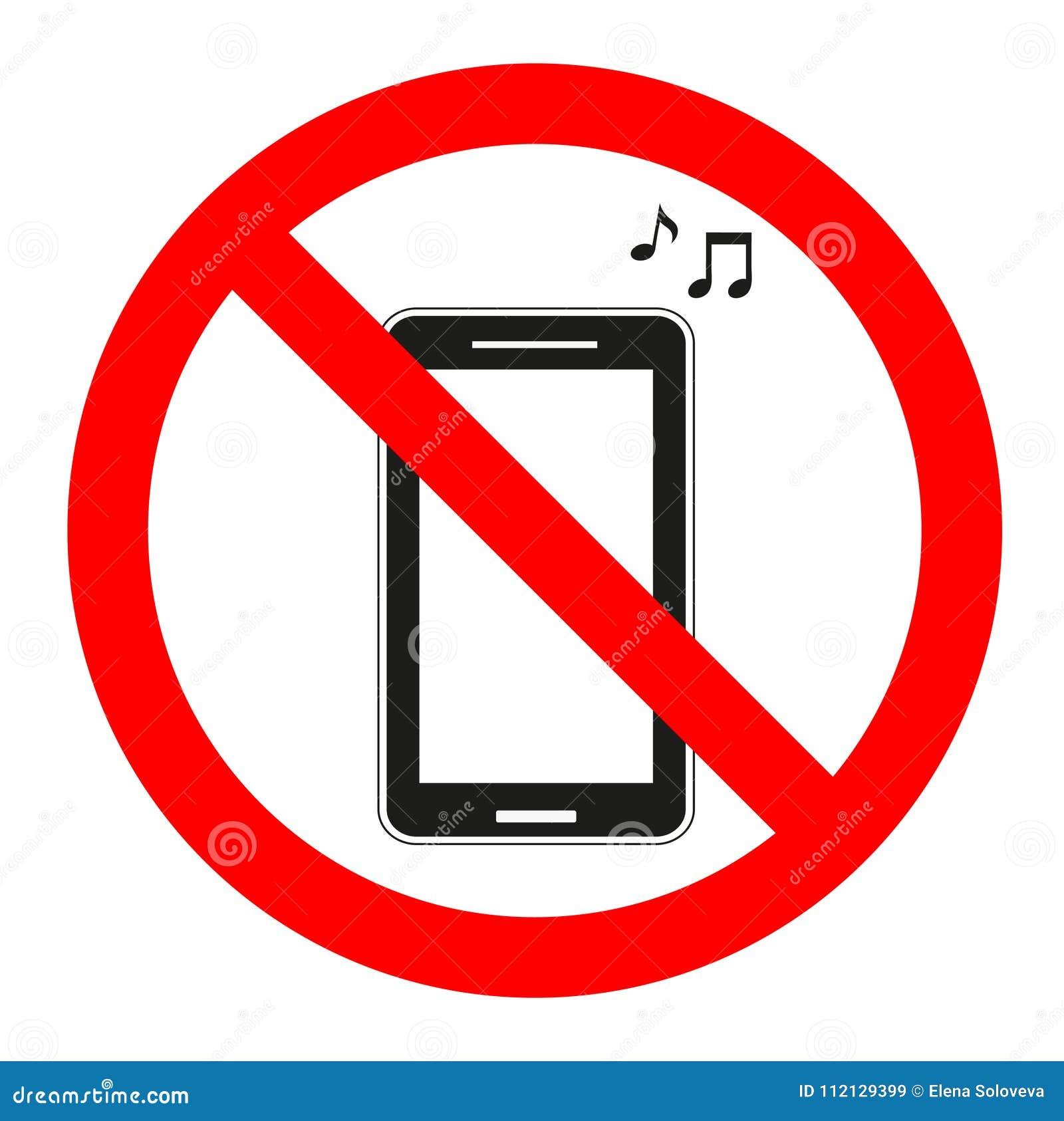 turn off mobile phones icon cartoon vector