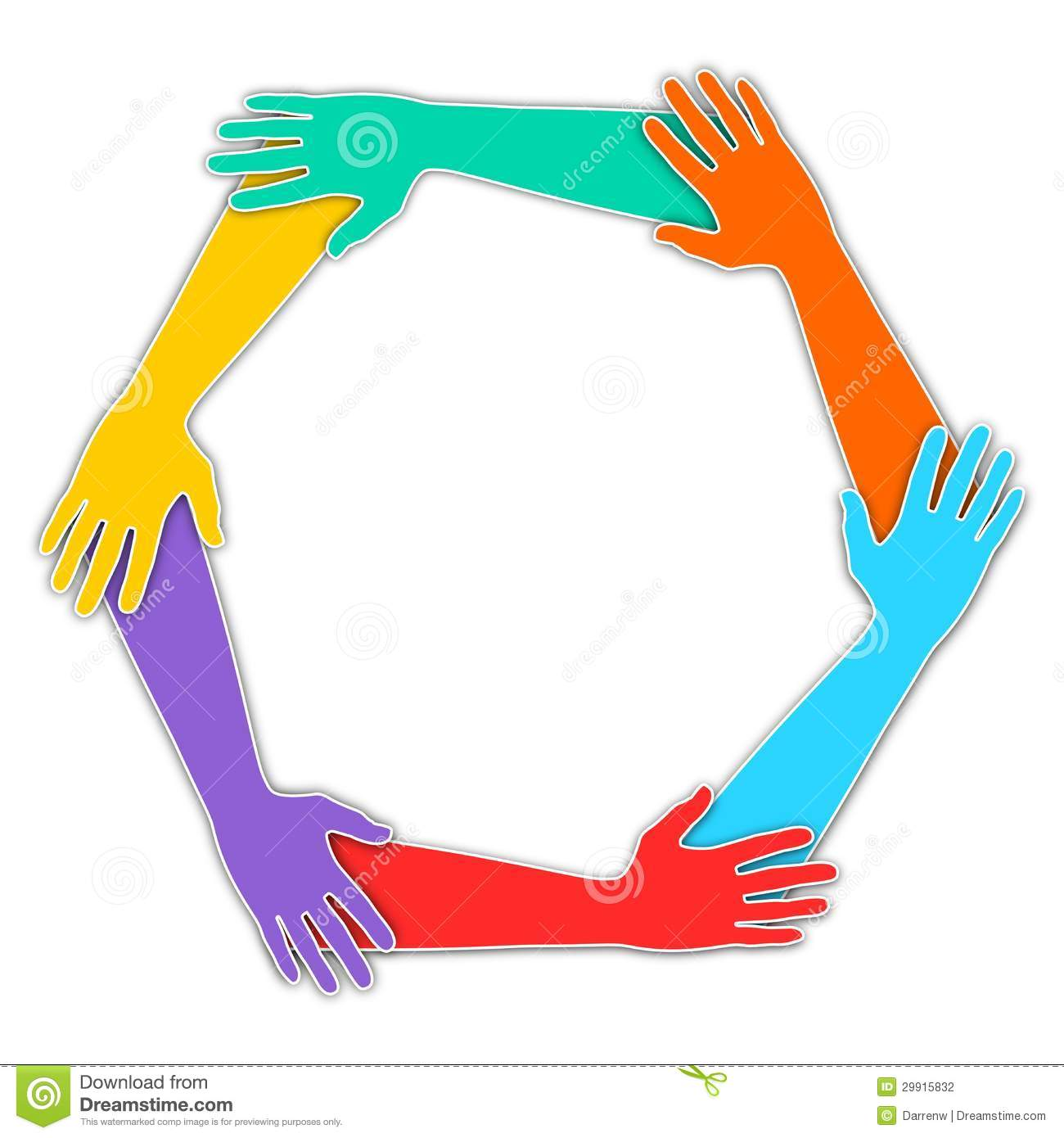 Joined Hands Stock Photography - Image: 29915832