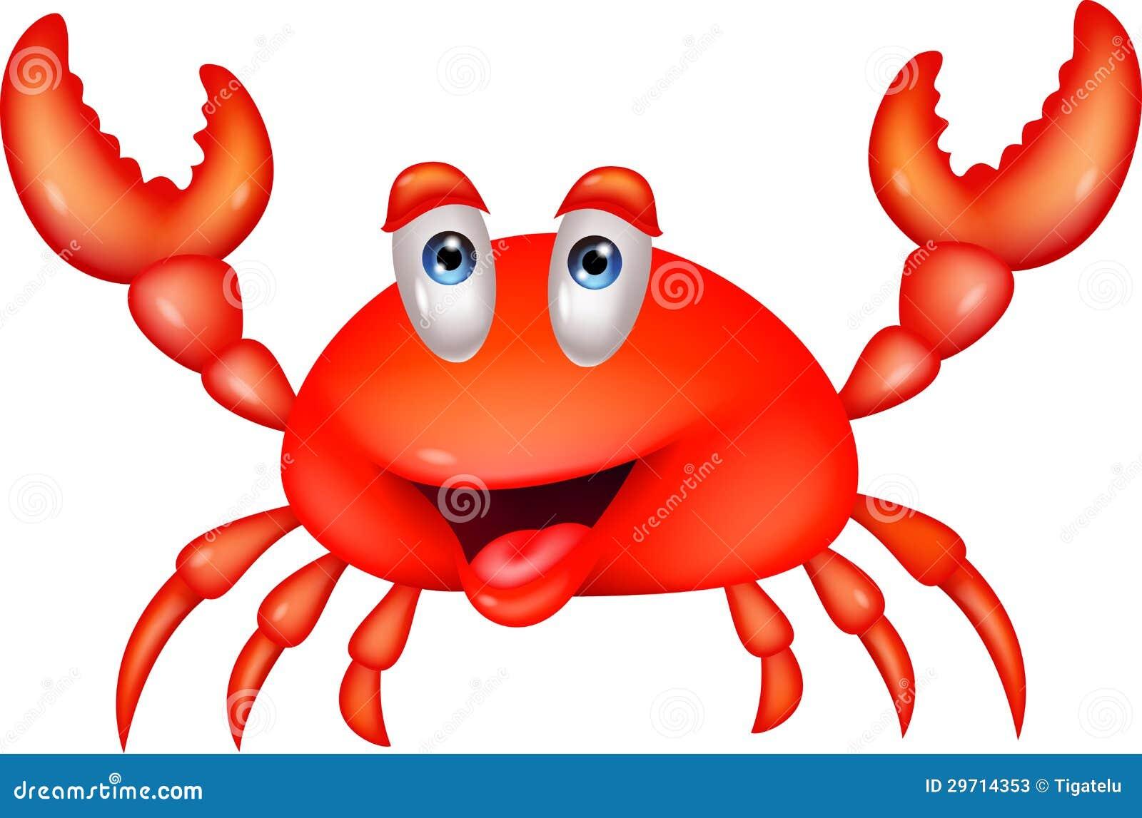Smiling Crab Cartoon Stock Photos - Image: 29714353
