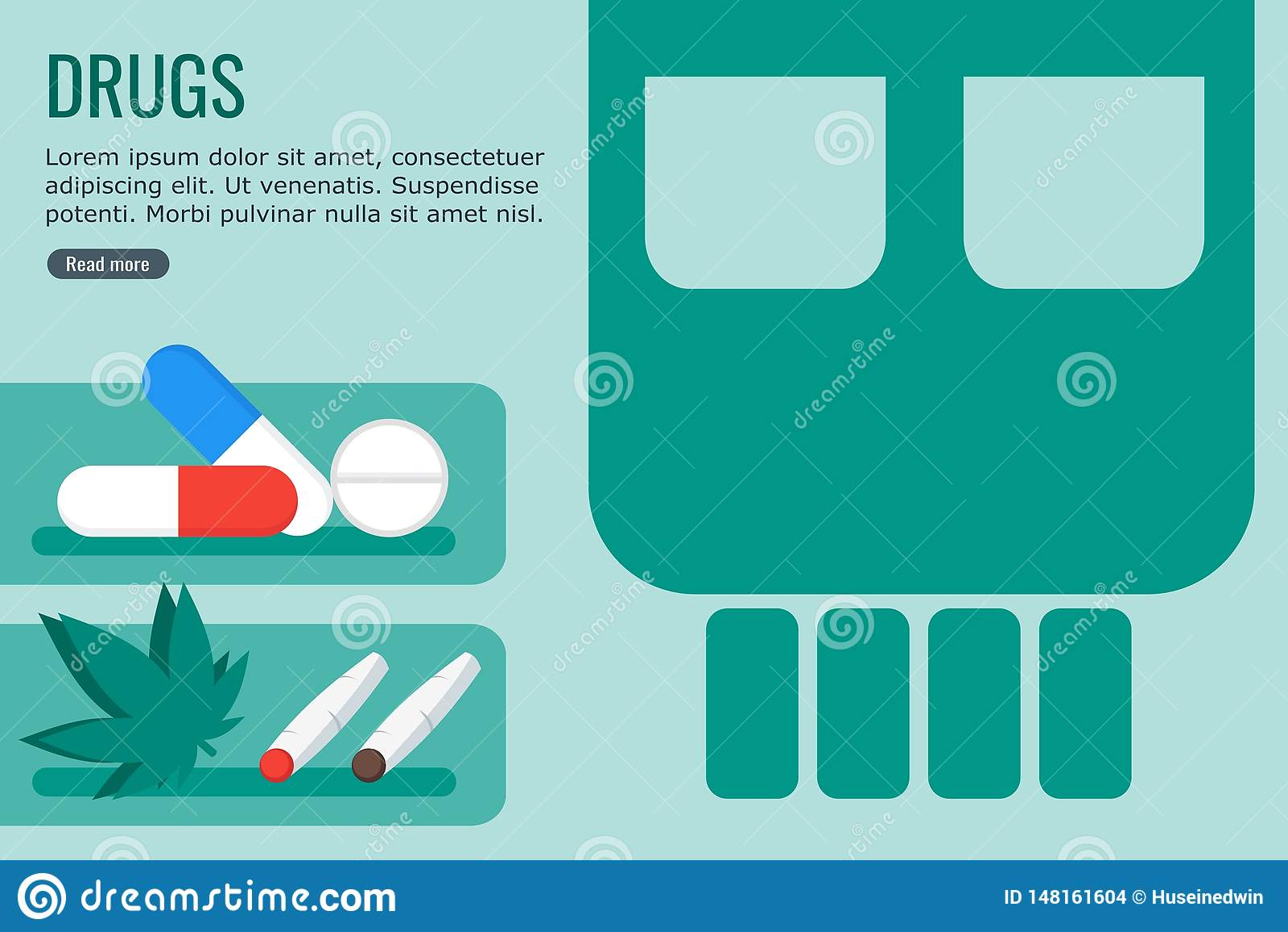 Dangerous Drugs for Info Graphic