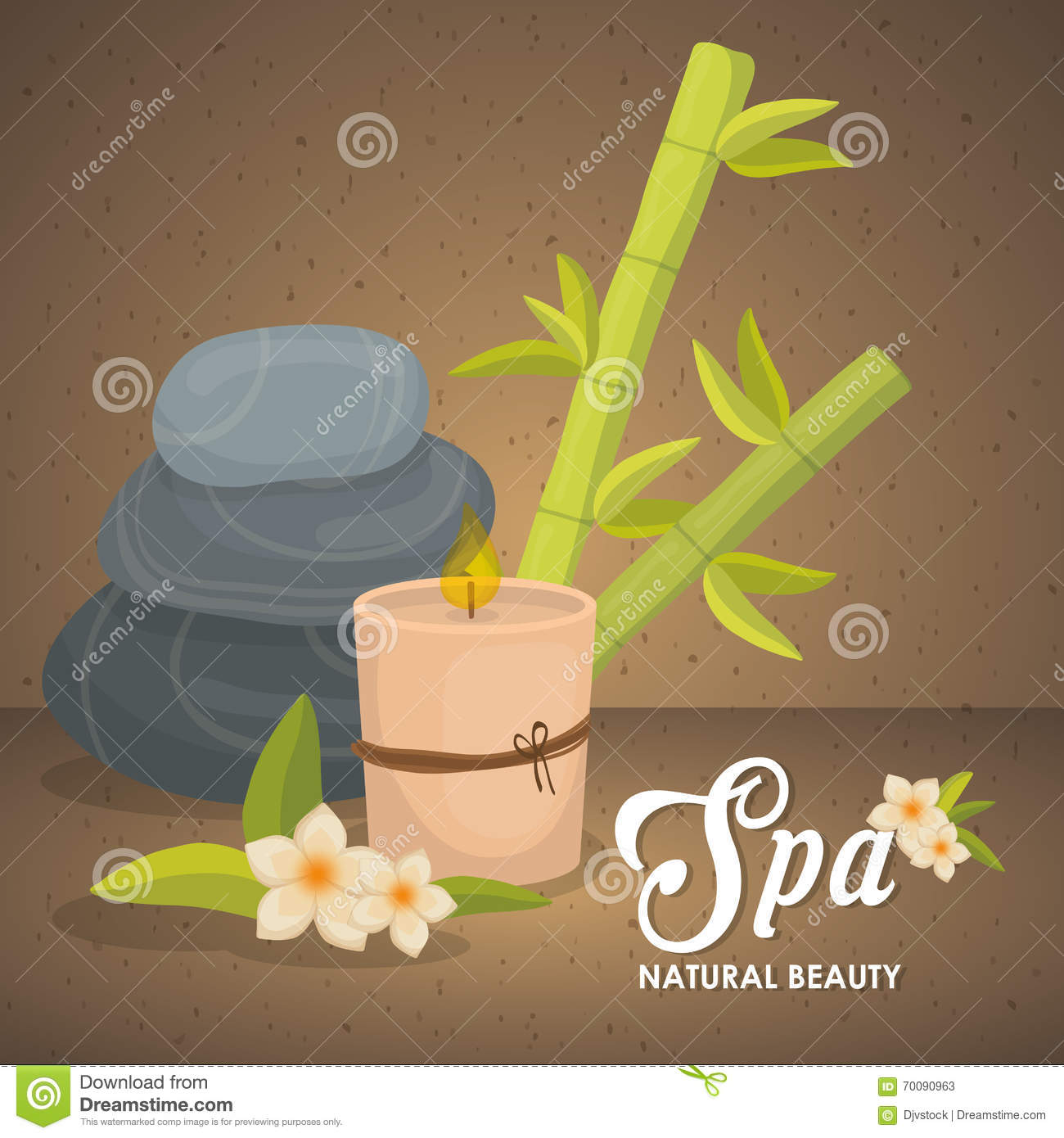 Illustration of spa center vector design stock vector for Designhotel maastricht comfort xl