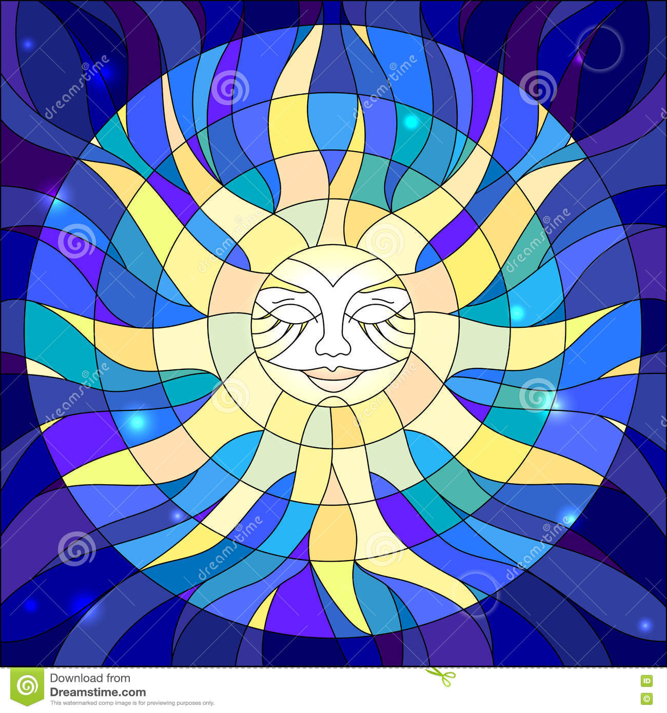 https://thumbs.dreamstime.com/z/illustration-stained-glass-style-abstract-star-window-77231537.jpg