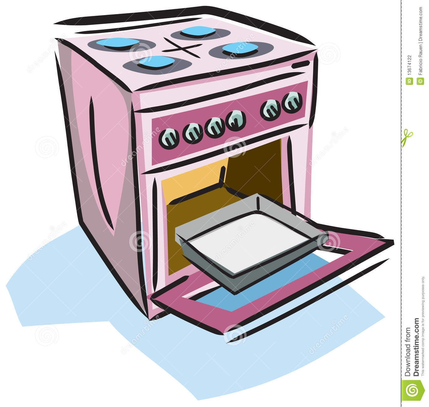 Stock Photography Illustration Stove Image13674122 on seats for house