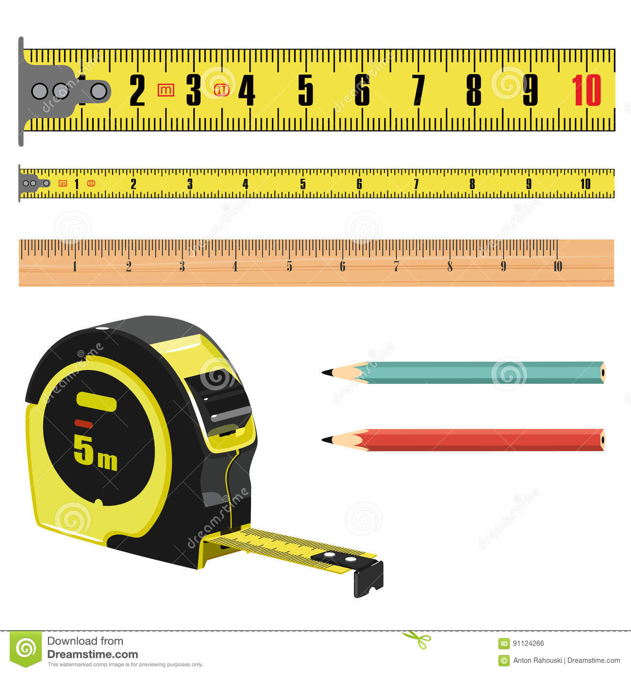worksheet Measuring Centimeters illustration tape measure length in centimeters building roulette royalty free illustration
