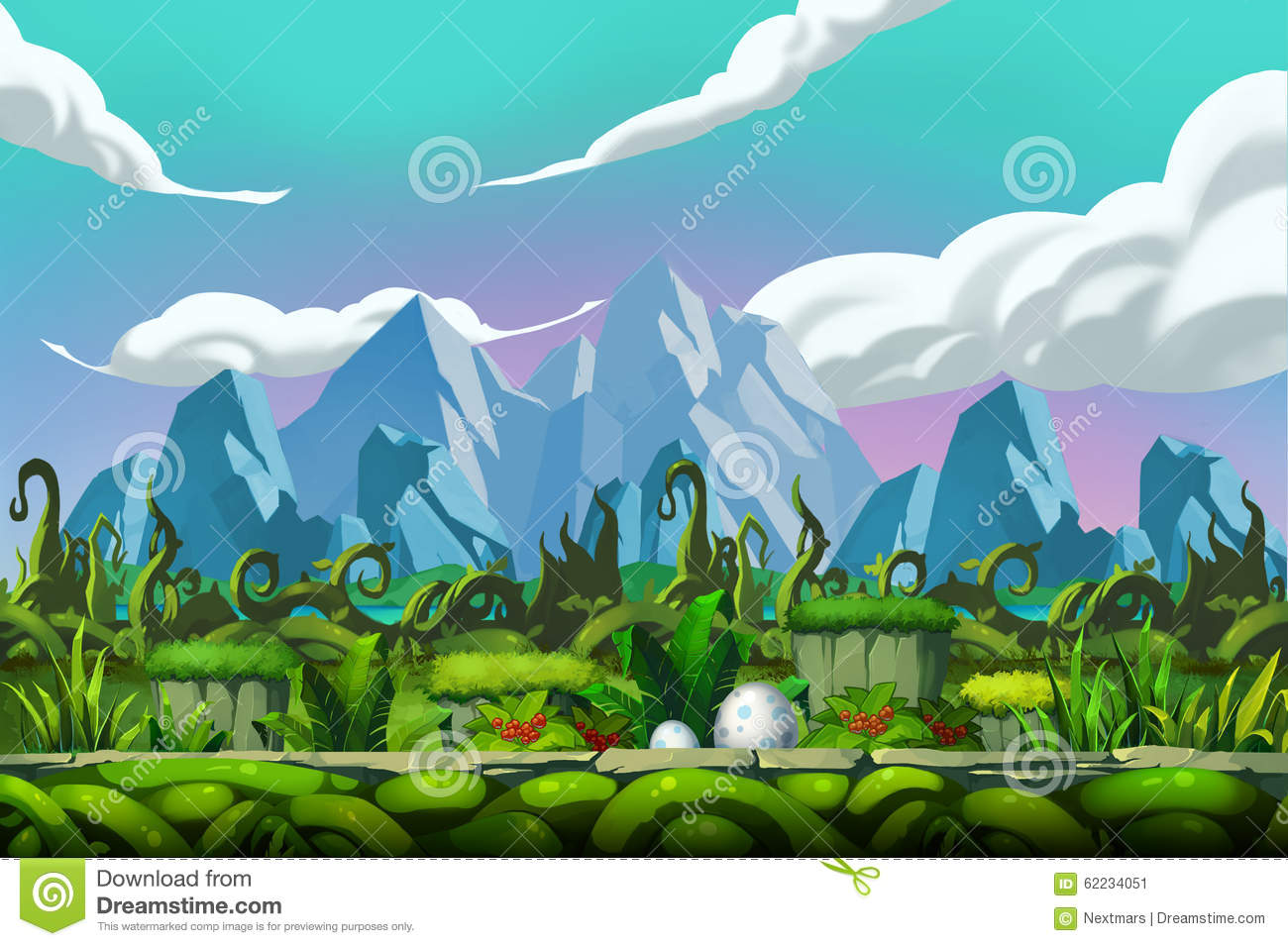 Simple Wallpaper Mountain Cartoon - illustration-thicket-forest-front-mountains-realistic-cartoon-style-scene-wallpaper-background-design-62234051  Best Photo Reference_51210.jpg