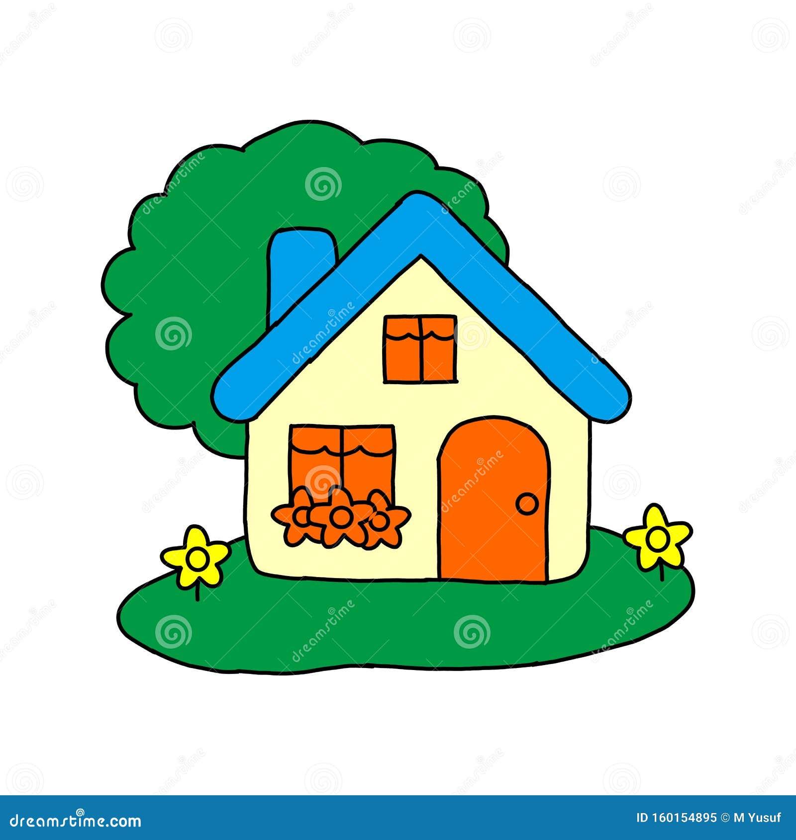 Illustration Vectorielle Concept De Dessin Pour Vente Maison Maison De Ville A La Maison Pour Le Concept De Vente Illustration De Vecteur Illustration Du Vectorielle Vente 160154895