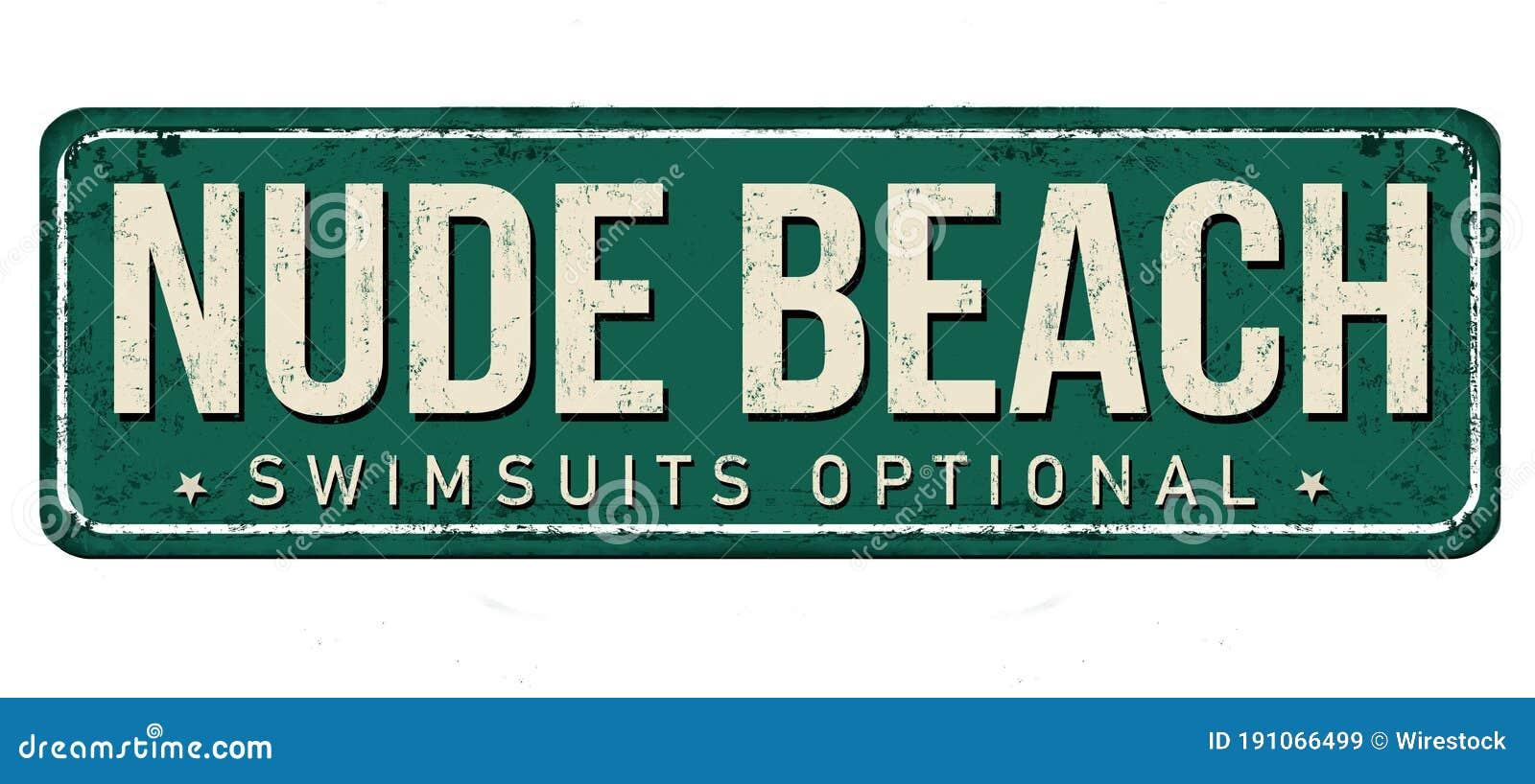 Nude beach vintage Real Nudist