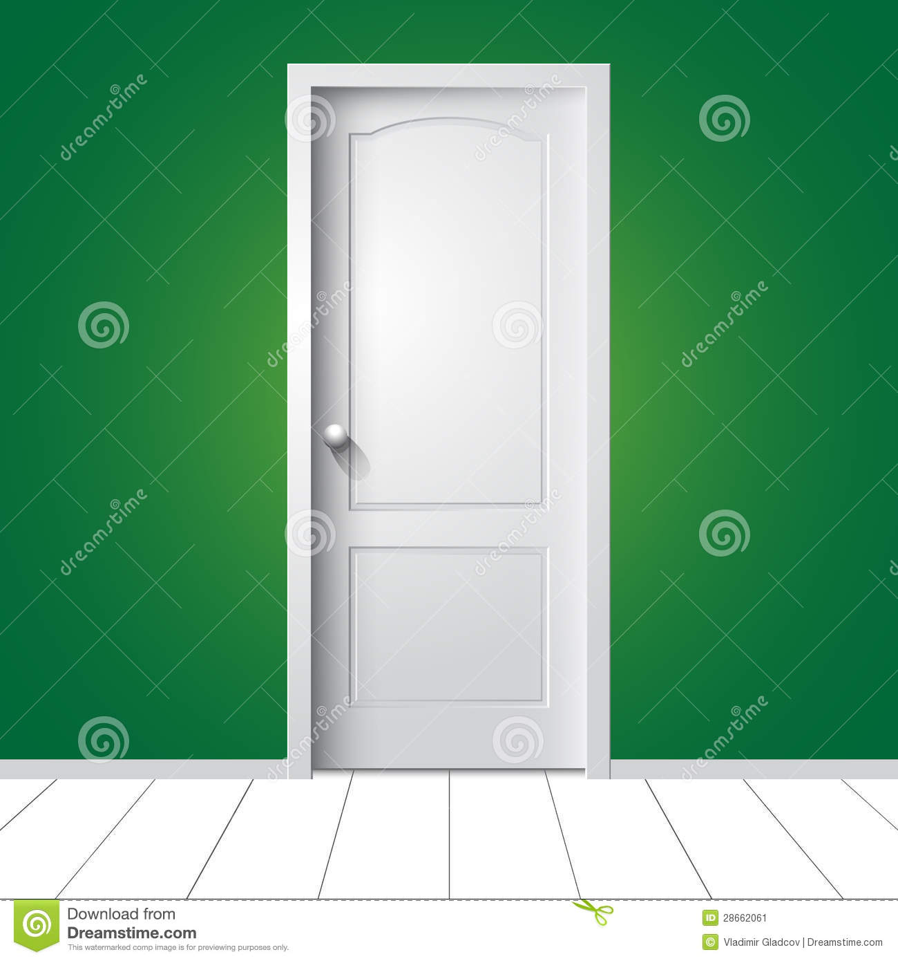 Royalty-Free Stock Photo & Vector white door stock vector. Illustration of background - 28662061