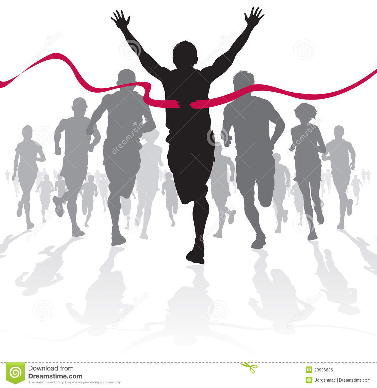 winning athlete crosses the finish line royalty free clip art of running deer clip art of running people