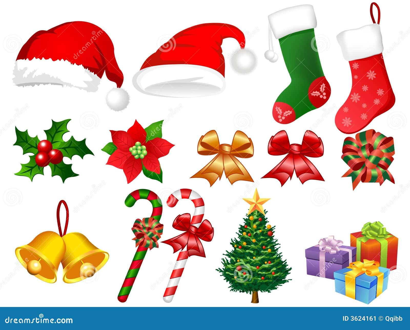 Illustration Of Xmas Ornaments Stock Vector Illustration