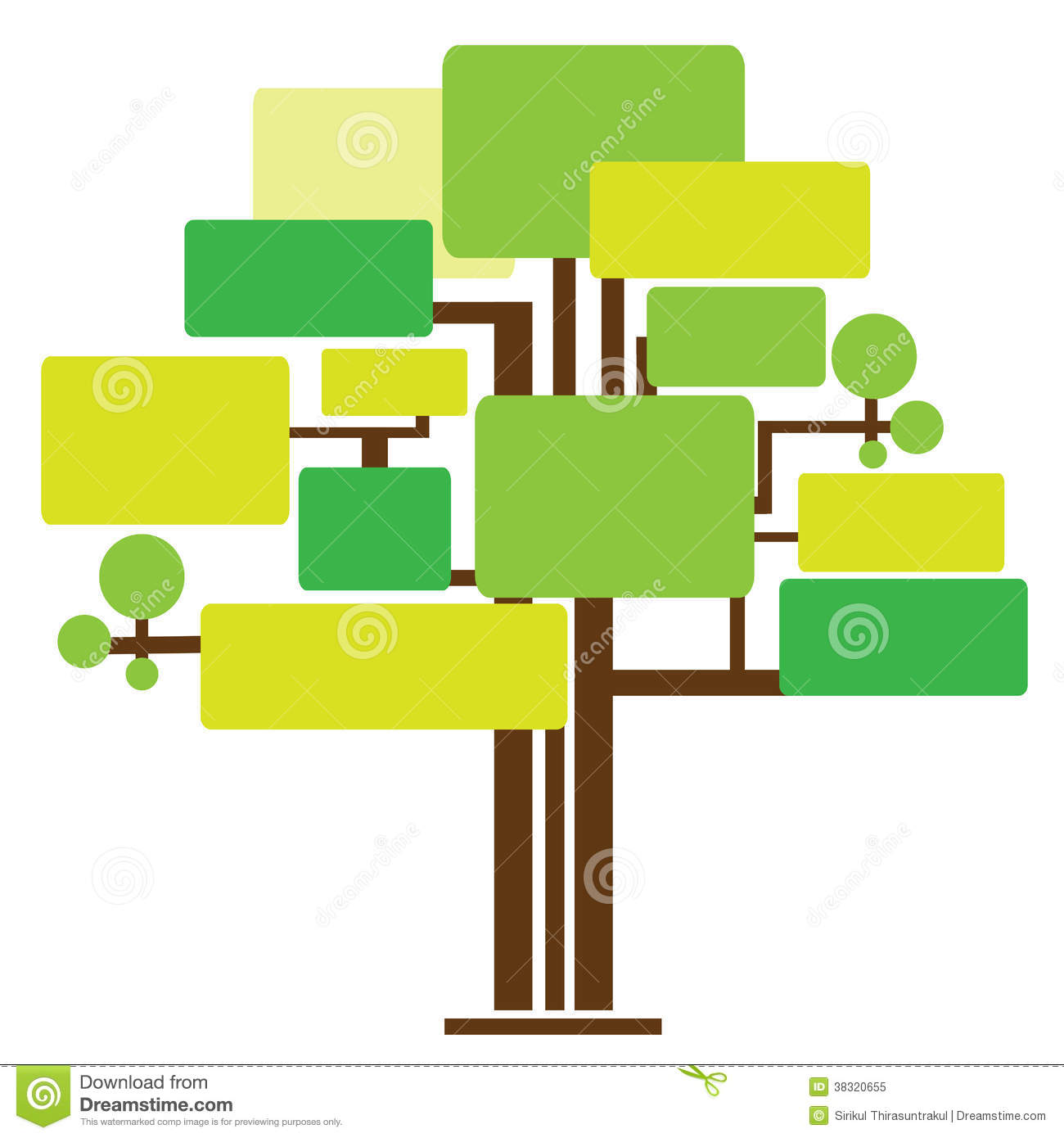 Illustrationn of tree template stock illustration illustration of illustrationn of tree template cheaphphosting Gallery
