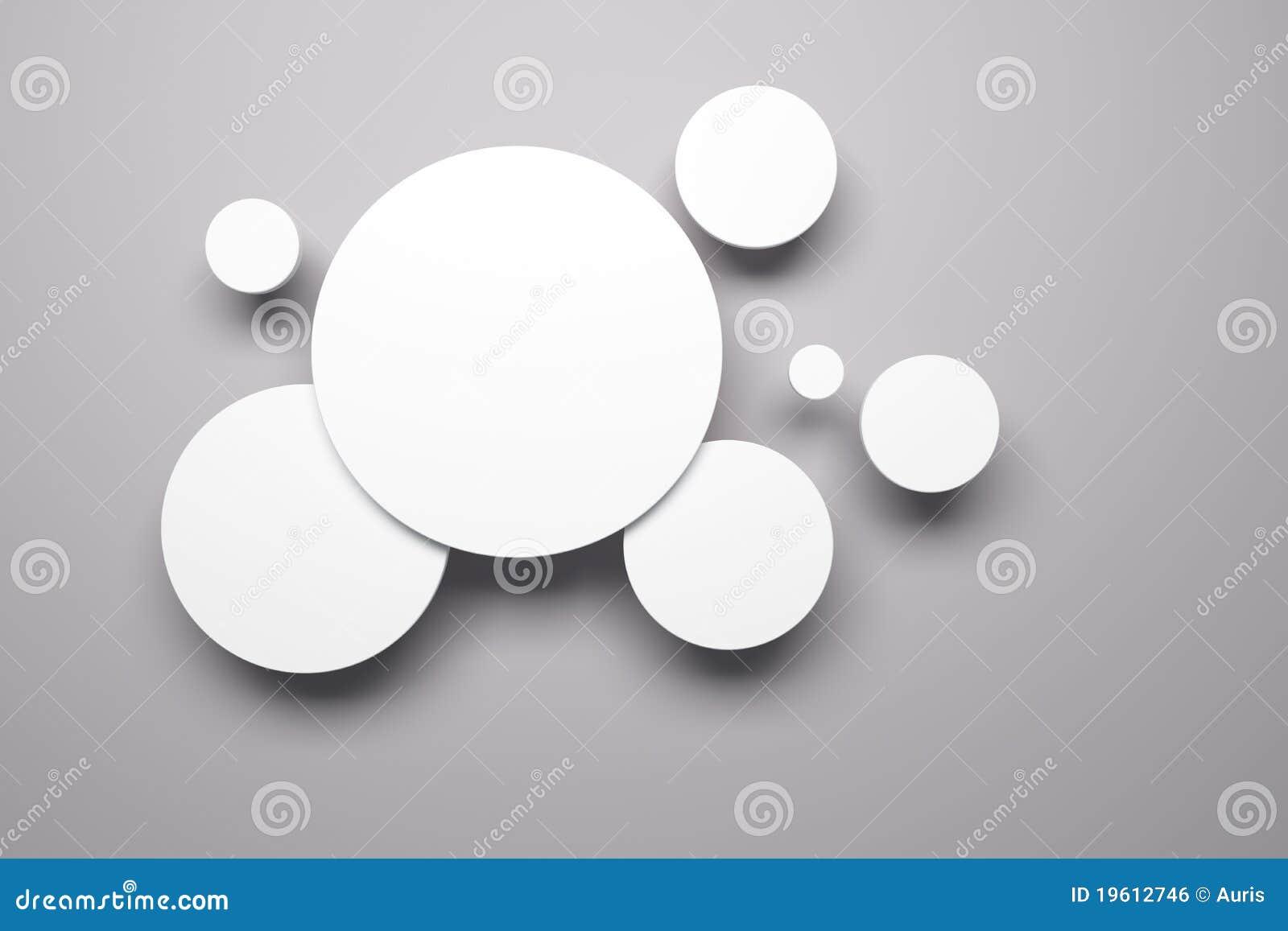 Illustrations blanc sur le mur