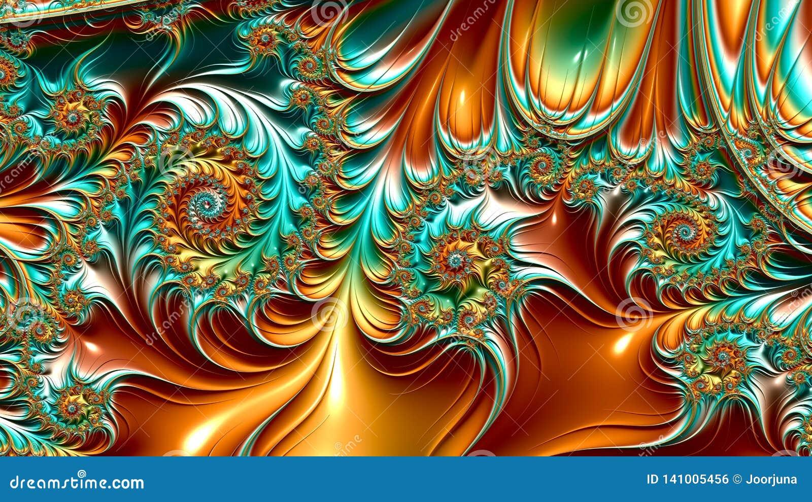 Illustrations de fractale
