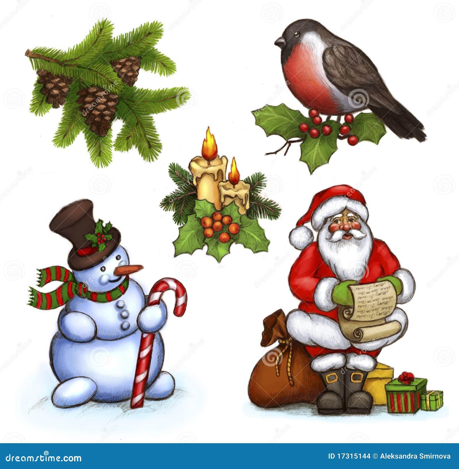 Illustrations de Noël
