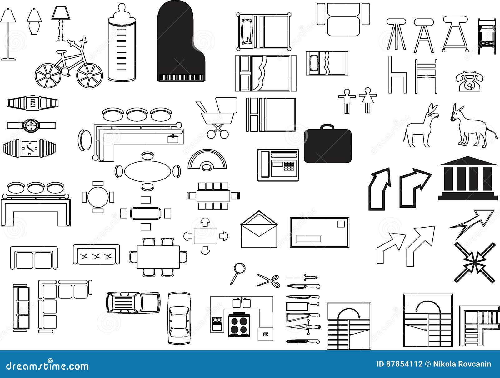 Illustrations elements