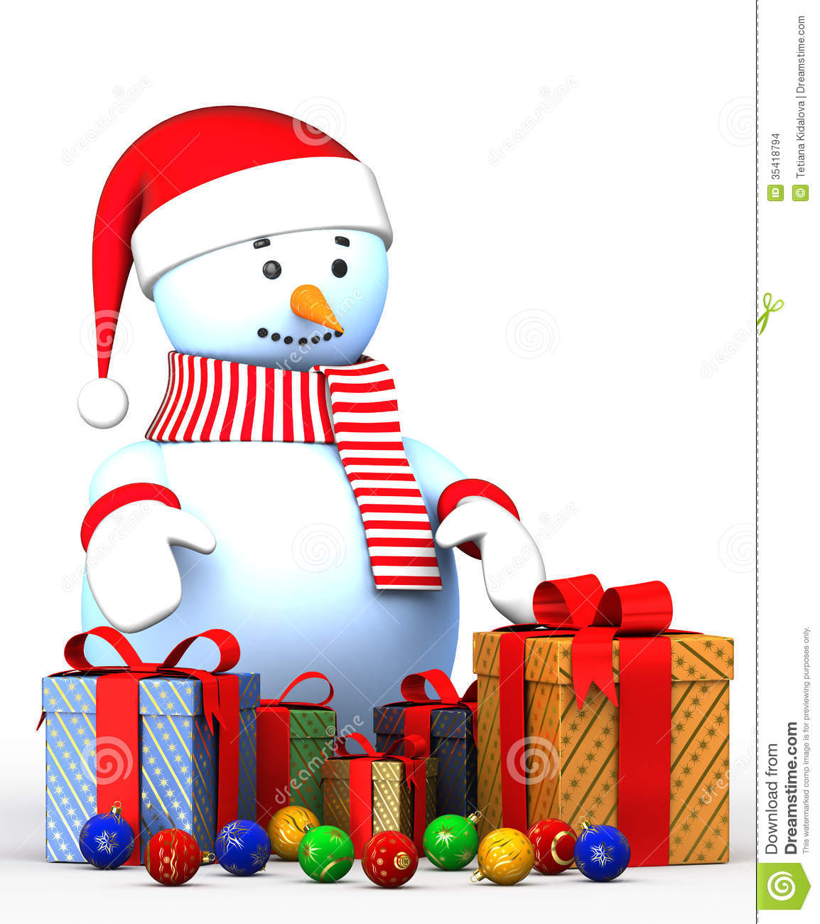 Illustrations happy new year snowman stock images image