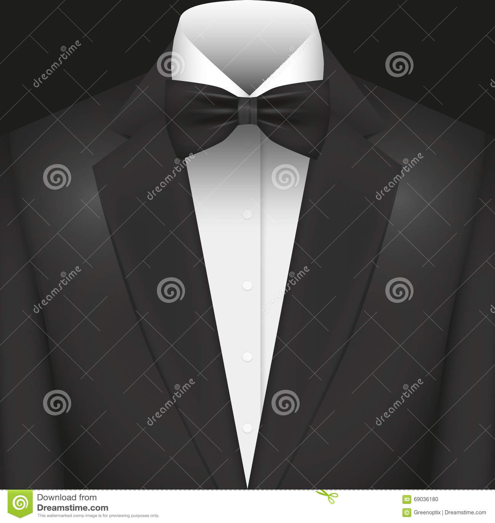 illustrations vektor grafik anzug mit fliege stock abbildung bild 69036180. Black Bedroom Furniture Sets. Home Design Ideas