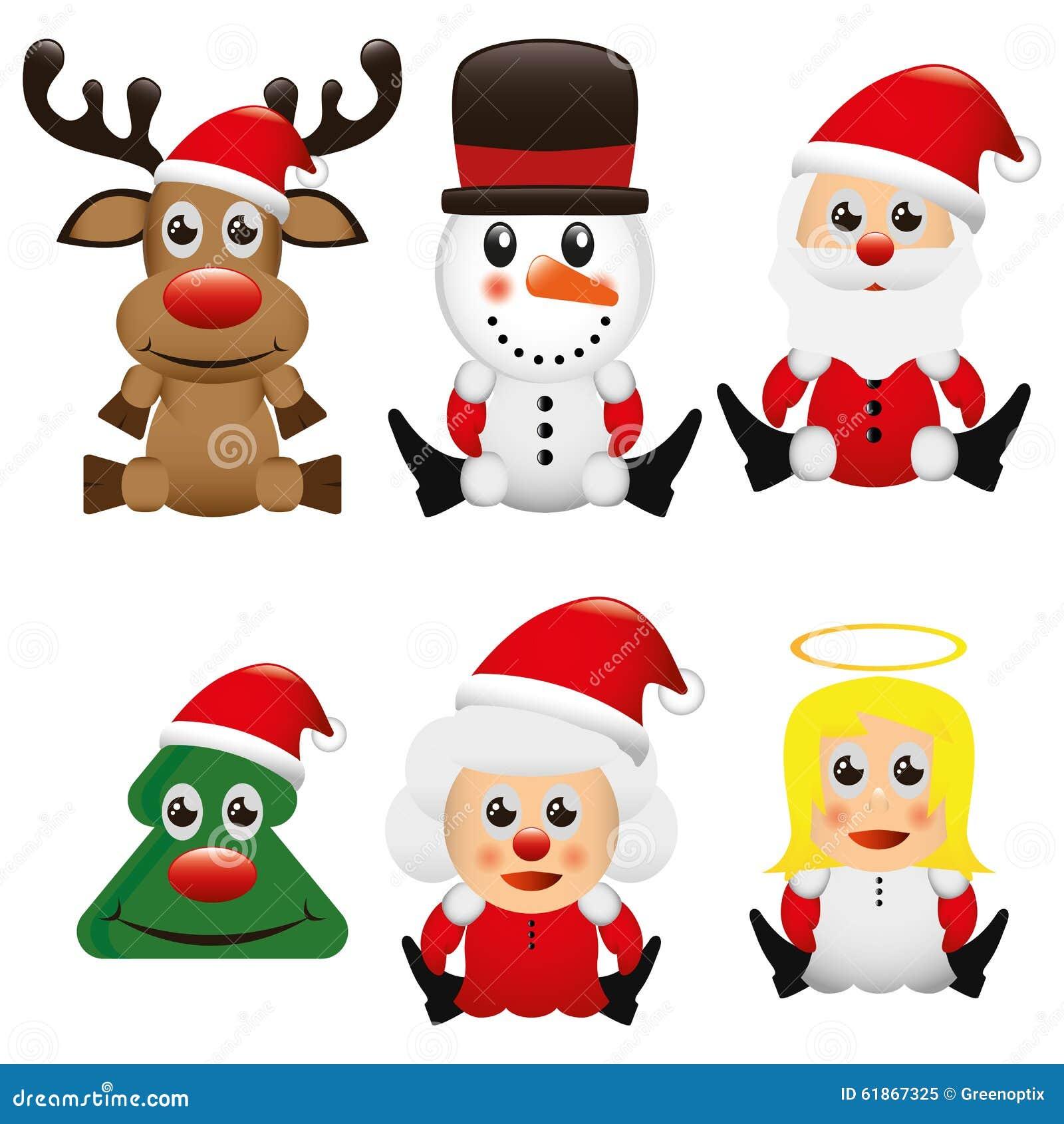 Illustrations vektor grafik weihnachten vektor abbildung bild 61867325 - Grafik weihnachten kostenlos ...