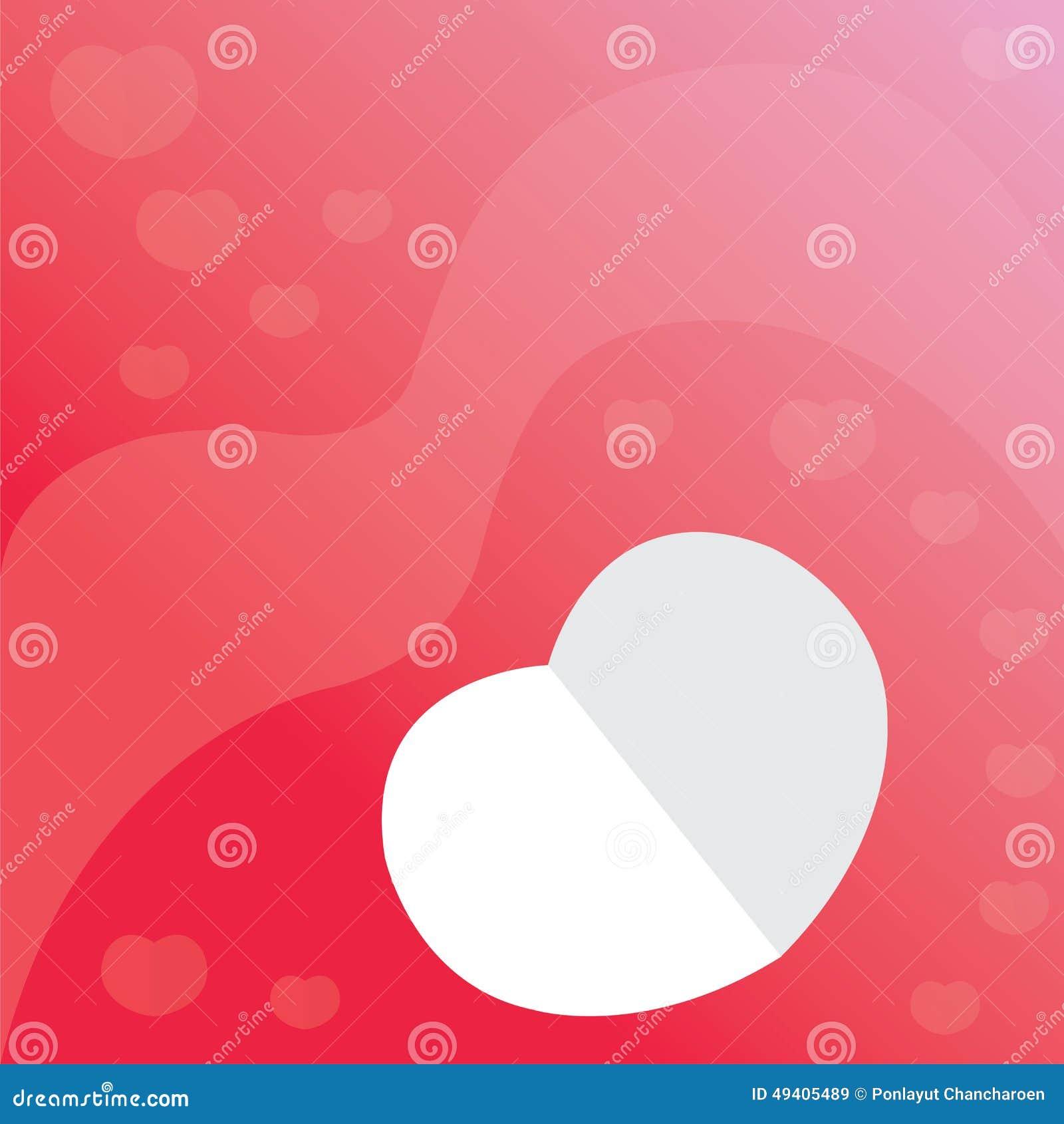 Download Illustrationsvalentinsgruß-Kartenherz Vektor Abbildung - Illustration von liebe, papier: 49405489