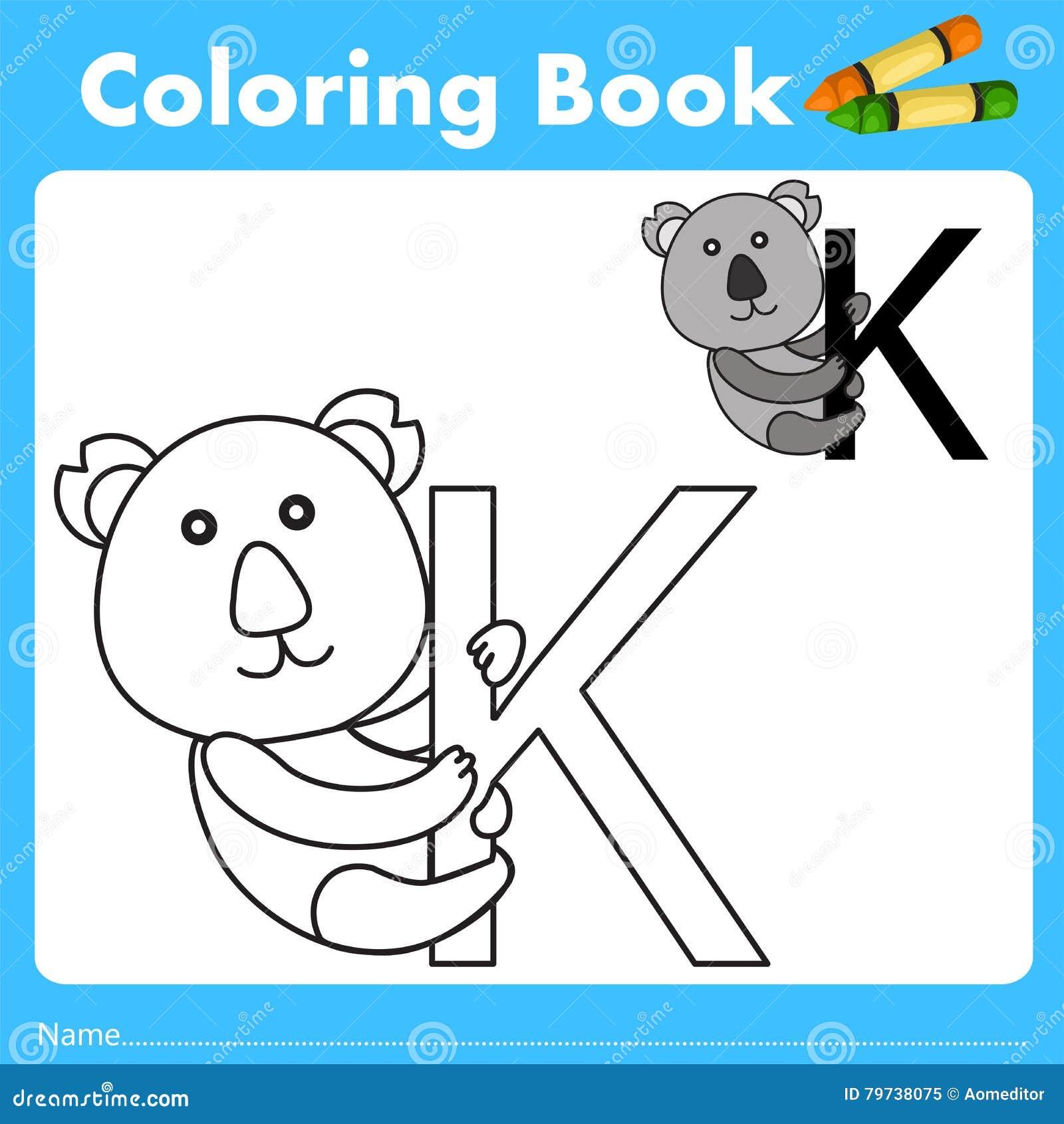 Book color illustrator - Illustrator Of Color Book With Koala Animal